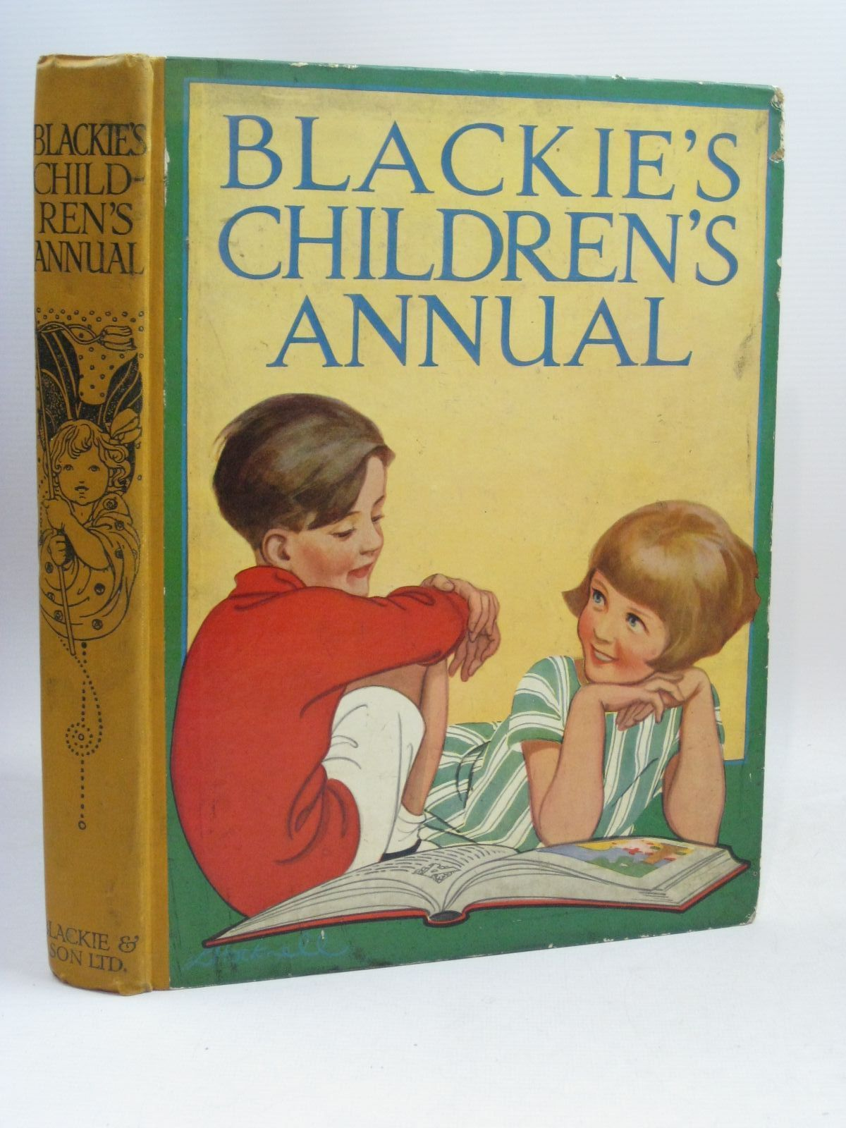 Photo of BLACKIE'S CHILDREN'S ANNUAL 23RD YEAR written by Barnes, Madeline Ogilvie, Will H. Pope, Jessie Smith, Evelyn et al, illustrated by Adams, Frank Reynolds, Warwick Rountree, Harry et al., published by Blackie & Son Ltd. (STOCK CODE: 1506153)  for sale by Stella & Rose's Books