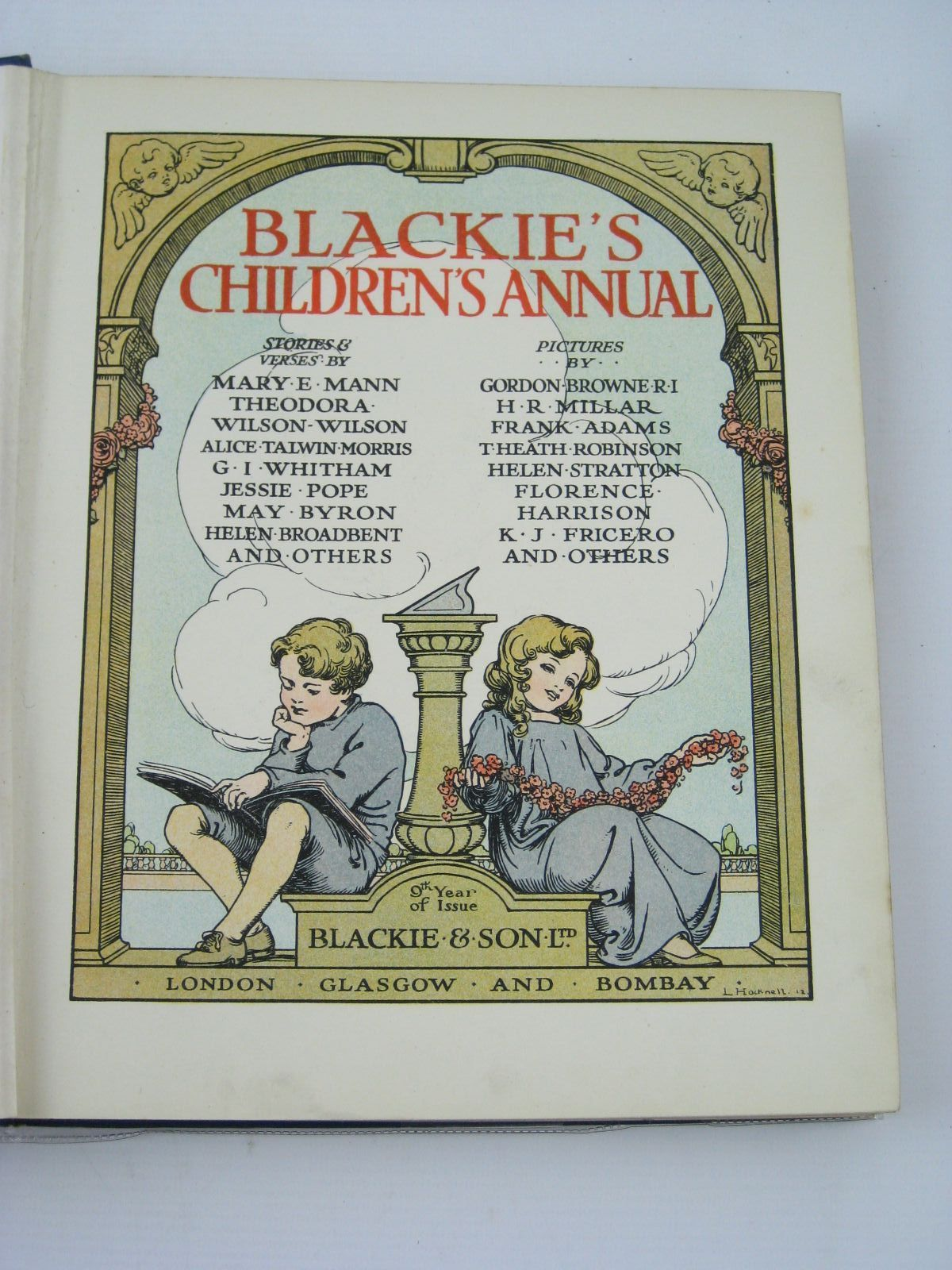 Photo of BLACKIE'S CHILDREN'S ANNUAL 9TH YEAR written by Mann, Mary E.