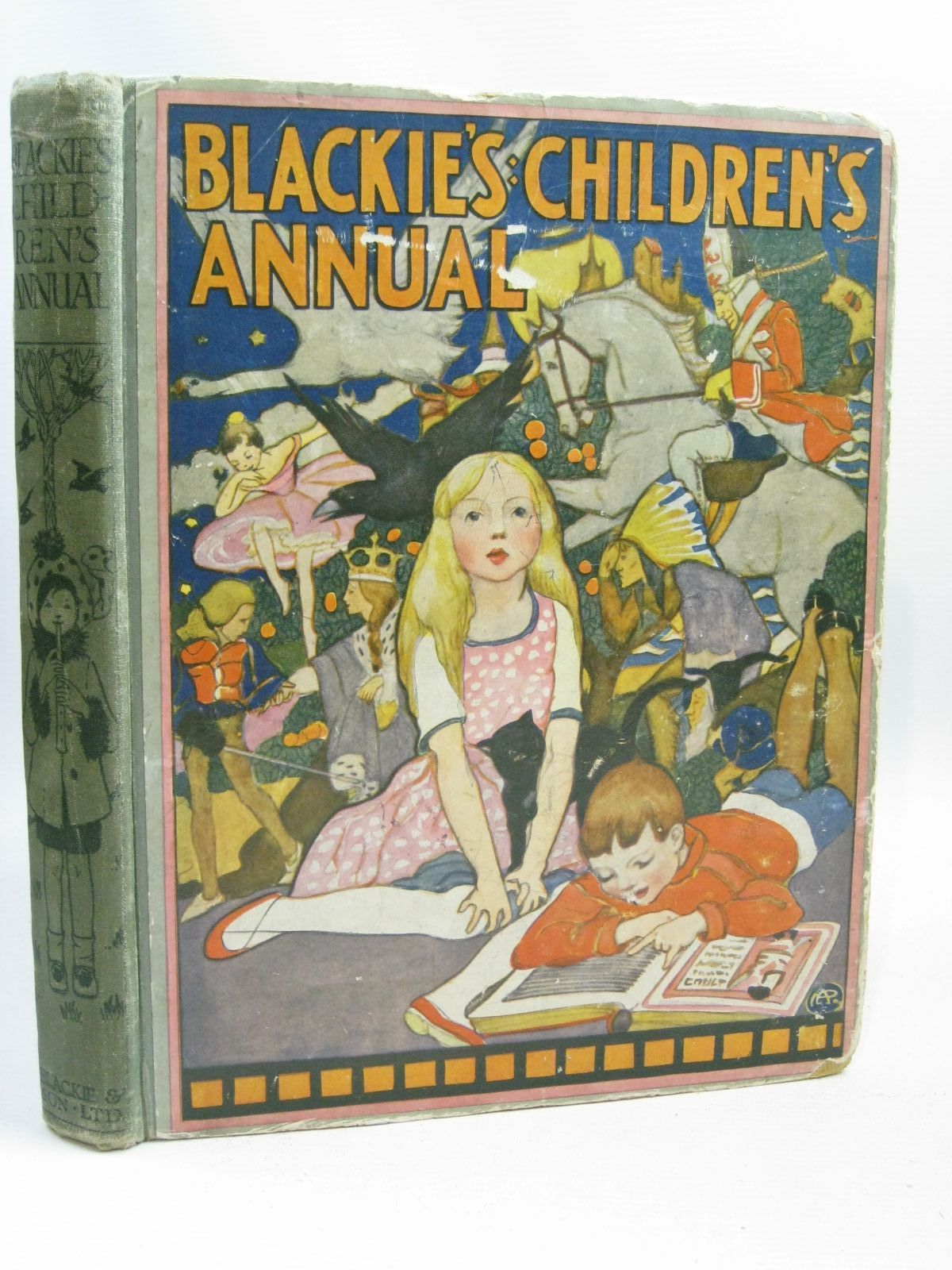 Photo of BLACKIE'S CHILDREN'S ANNUAL 16TH YEAR written by Wemyss, Mrs. George Joan, Natalie Brazil, Angela et al,  illustrated by Brock, H.M. Richardson, Agnes Peart, M.A. Harrison, Florence et al.,  published by Blackie & Son Ltd. (STOCK CODE: 1506186)  for sale by Stella & Rose's Books