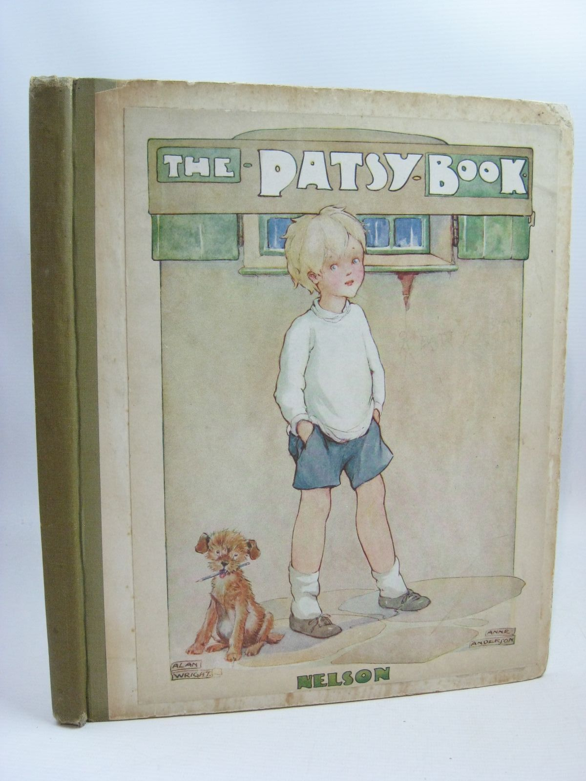 Photo of THE PATSY BOOK written by Anderson, Anne illustrated by Anderson, Anne Wright, Alan published by Thomas Nelson and Sons Ltd. (STOCK CODE: 1506246)  for sale by Stella & Rose's Books