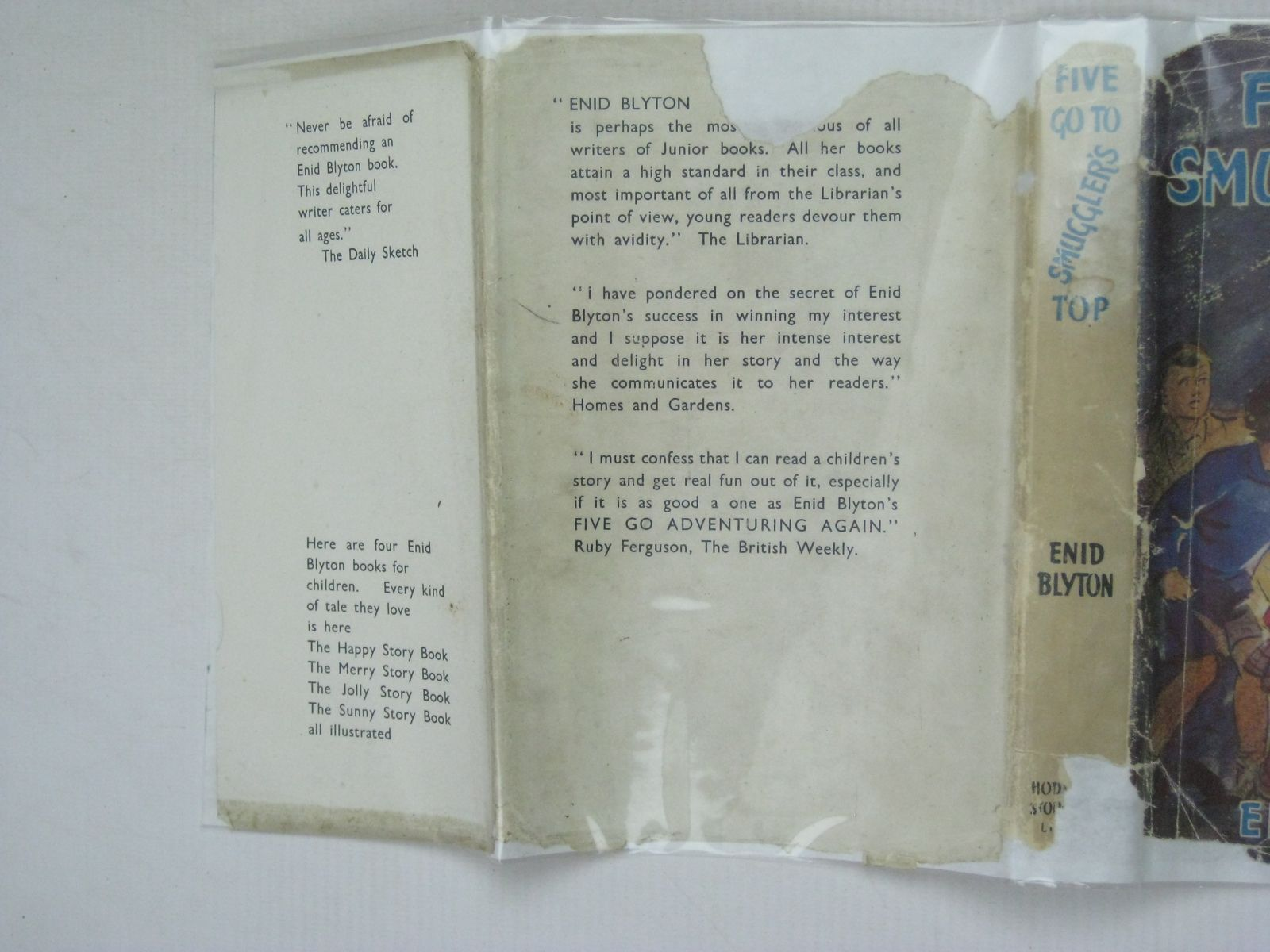 Photo of FIVE GO TO SMUGGLER'S TOP written by Blyton, Enid illustrated by Soper, Eileen published by Hodder & Stoughton (STOCK CODE: 1506249)  for sale by Stella & Rose's Books
