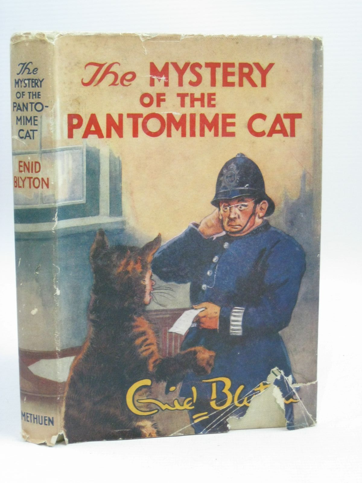 Photo of THE MYSTERY OF THE PANTOMIME CAT written by Blyton, Enid illustrated by Abbey, J. published by Methuen & Co. Ltd. (STOCK CODE: 1506319)  for sale by Stella & Rose's Books
