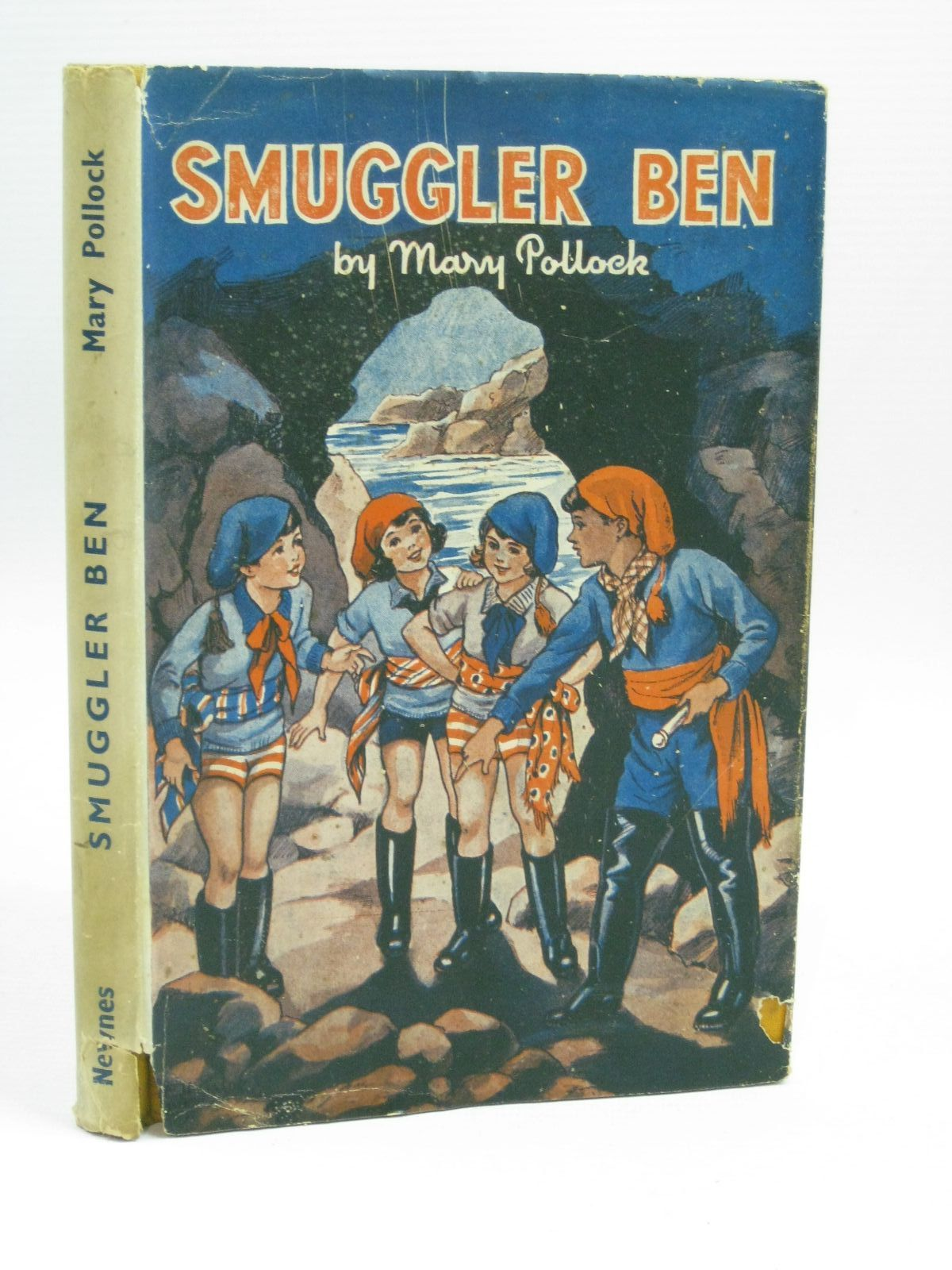 Photo of SMUGGLER BEN written by Blyton, Enid<br />Pollock, Mary illustrated by Davie, E.H. published by George Newnes Limited (STOCK CODE: 1506323)  for sale by Stella & Rose's Books