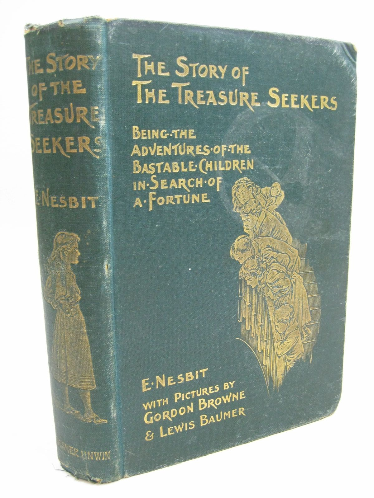 Photo of THE STORY OF THE TREASURE SEEKERS- Stock Number: 1506329