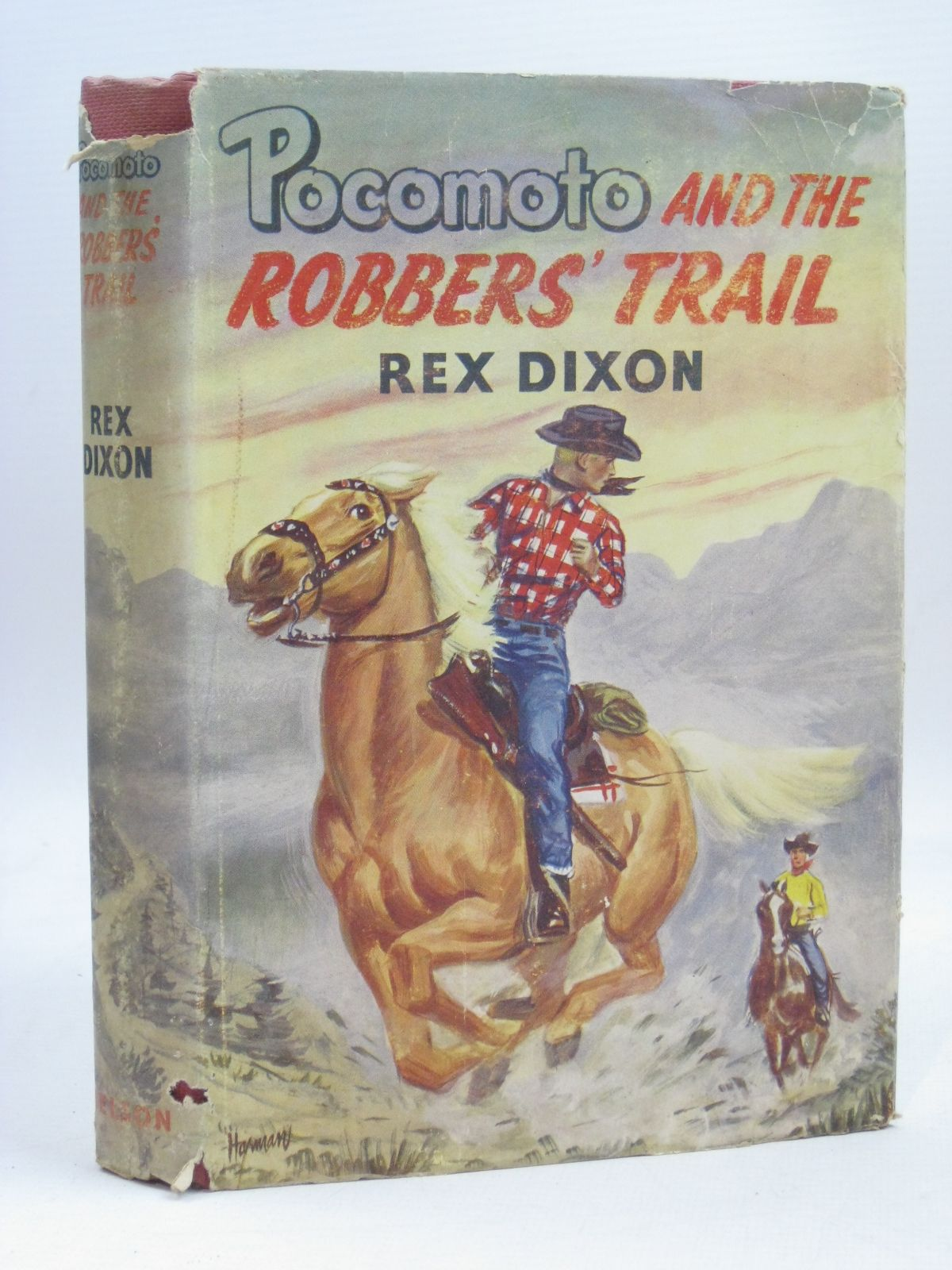 Photo of POCOMOTO AND THE ROBBERS' TRAIL written by Dixon, Rex illustrated by Harman, Jack published by Thomas Nelson and Sons Ltd. (STOCK CODE: 1506367)  for sale by Stella & Rose's Books
