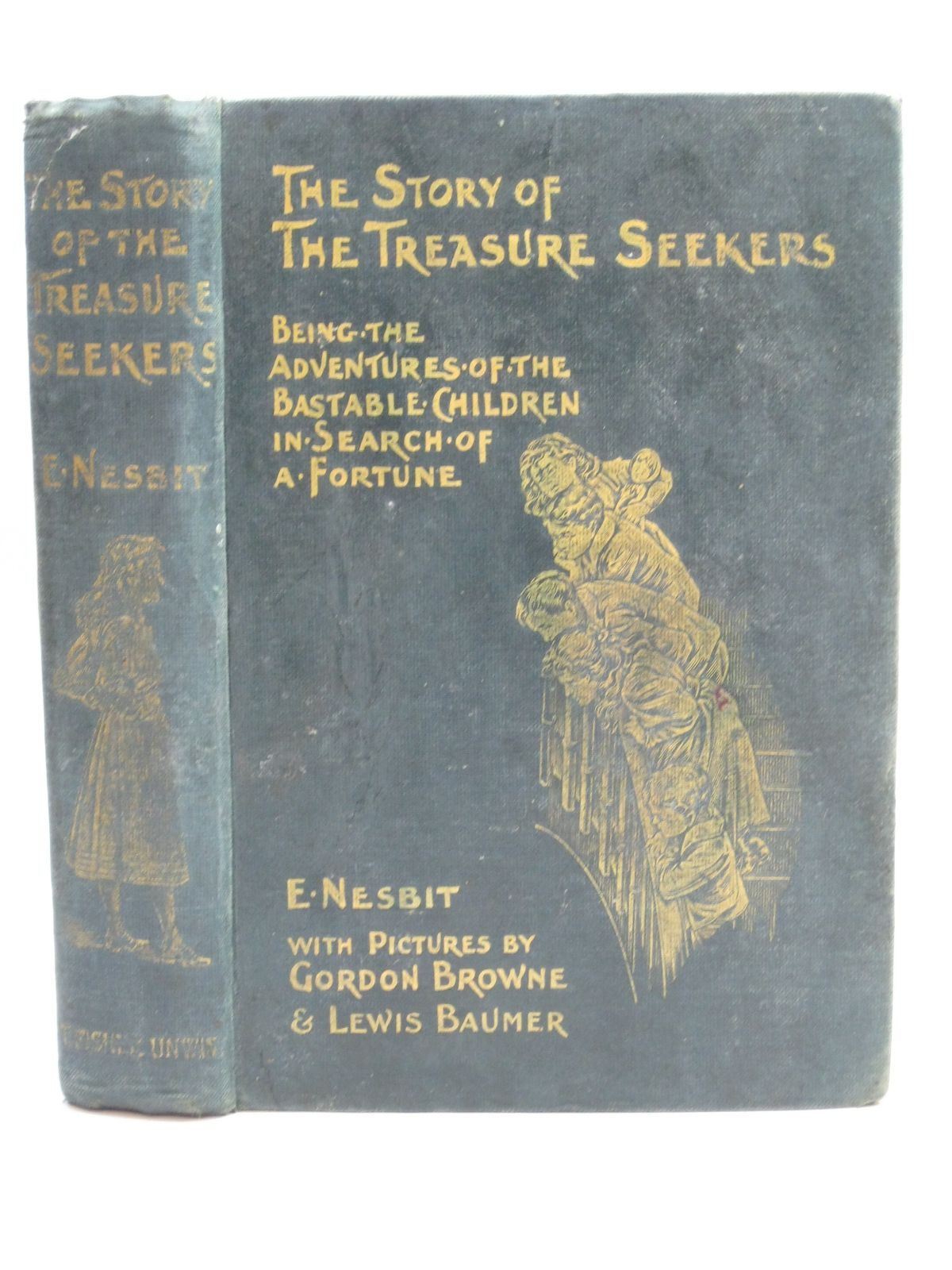 Photo of THE STORY OF THE TREASURE SEEKERS written by Nesbit, E. illustrated by Browne, Gordon<br />Baumer, Lewis published by T. Fisher Unwin (STOCK CODE: 1506407)  for sale by Stella & Rose's Books