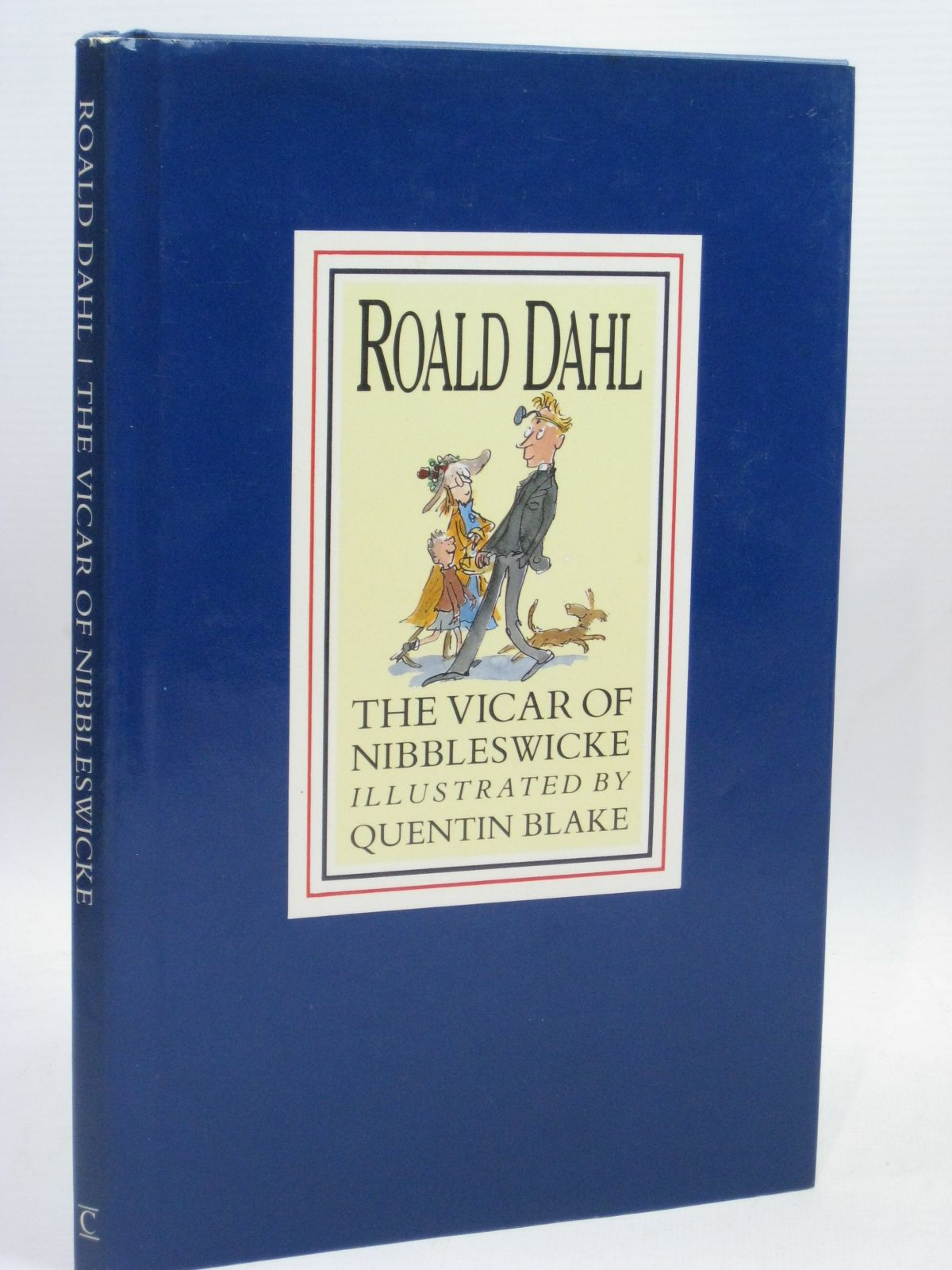 Photo of THE VICAR OF NIBBLESWICKE written by Dahl, Roald illustrated by Blake, Quentin published by Century Publishing (STOCK CODE: 1506415)  for sale by Stella & Rose's Books