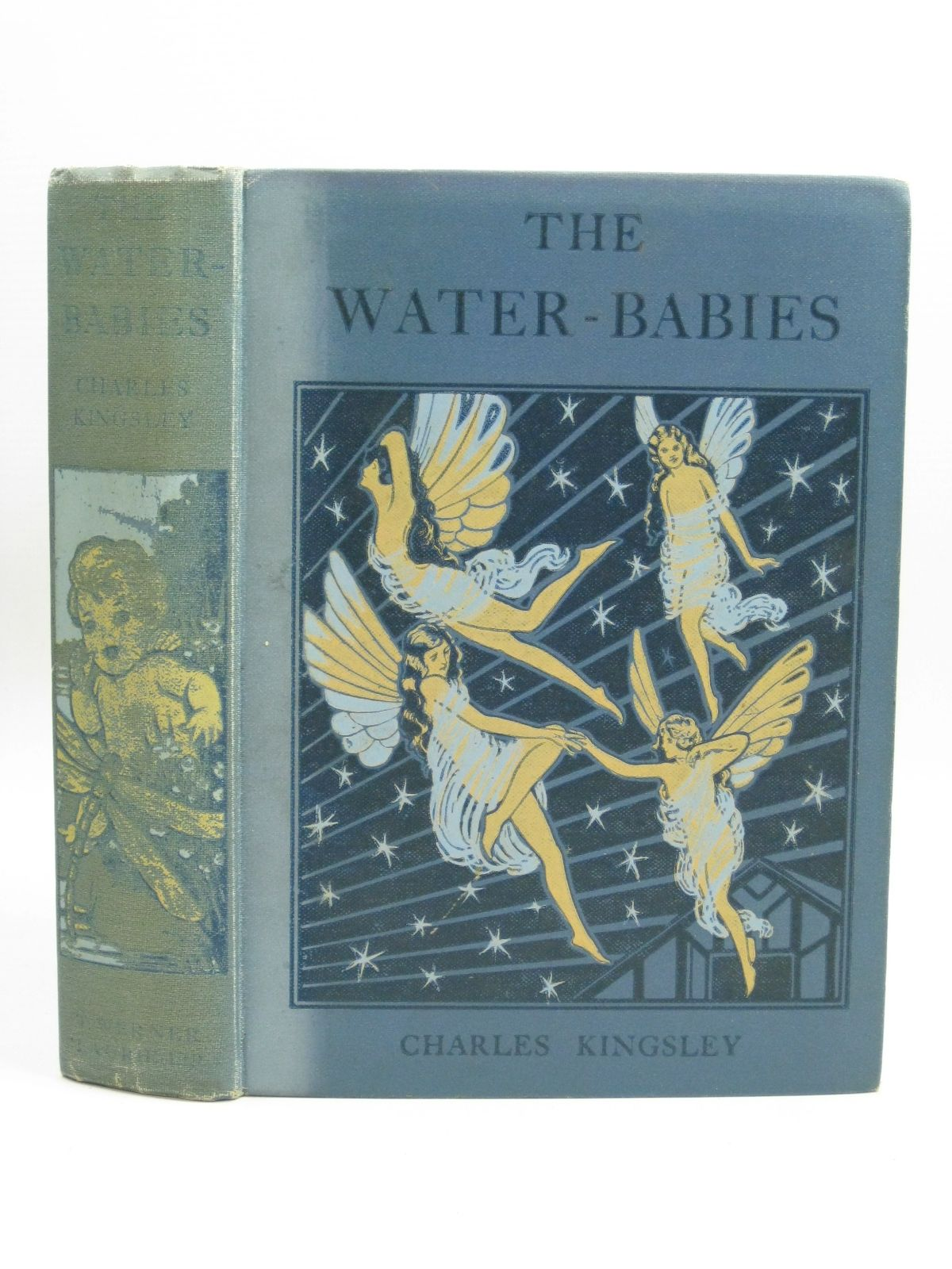 Photo of THE WATER BABIES written by Kingsley, Charles Laurie, B. illustrated by Gatlish, Arthur published by T. Werner Laurie Ltd. (STOCK CODE: 1506439)  for sale by Stella & Rose's Books