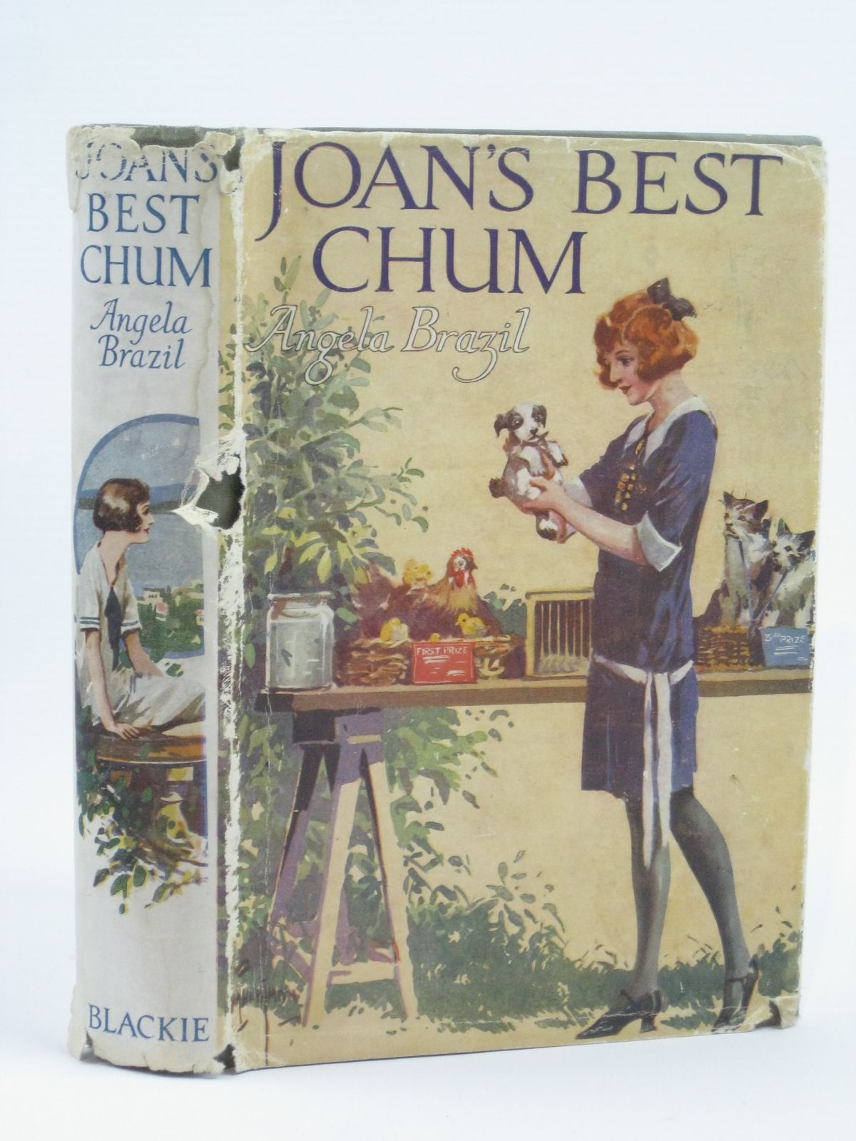 Photo of JOAN'S BEST CHUM written by Brazil, Angela illustrated by Wightman, W.E. published by Blackie & Son Ltd. (STOCK CODE: 1506486)  for sale by Stella & Rose's Books