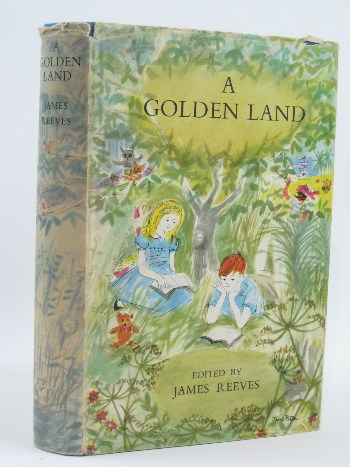 Photo of A GOLDEN LAND written by Reeves, James illustrated by Ardizzone, Edward Conway, Gillian et al.,  published by Constable and Company Ltd. (STOCK CODE: 1506518)  for sale by Stella & Rose's Books