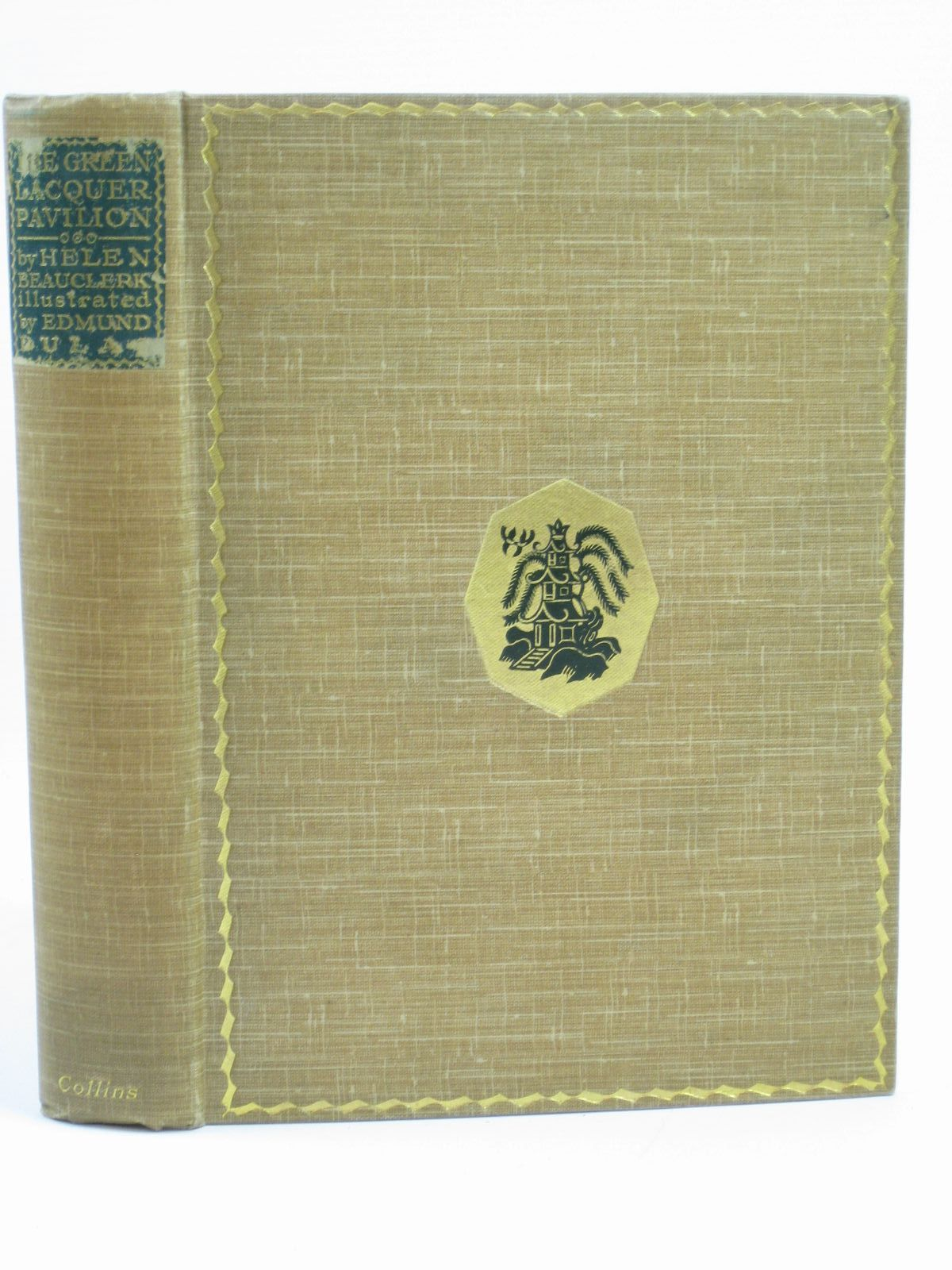 Photo of THE GREEN LACQUER PAVILION written by Beauclerk, Helen illustrated by Dulac, Edmund published by W. Collins Sons and Co. Ltd. (STOCK CODE: 1506638)  for sale by Stella & Rose's Books