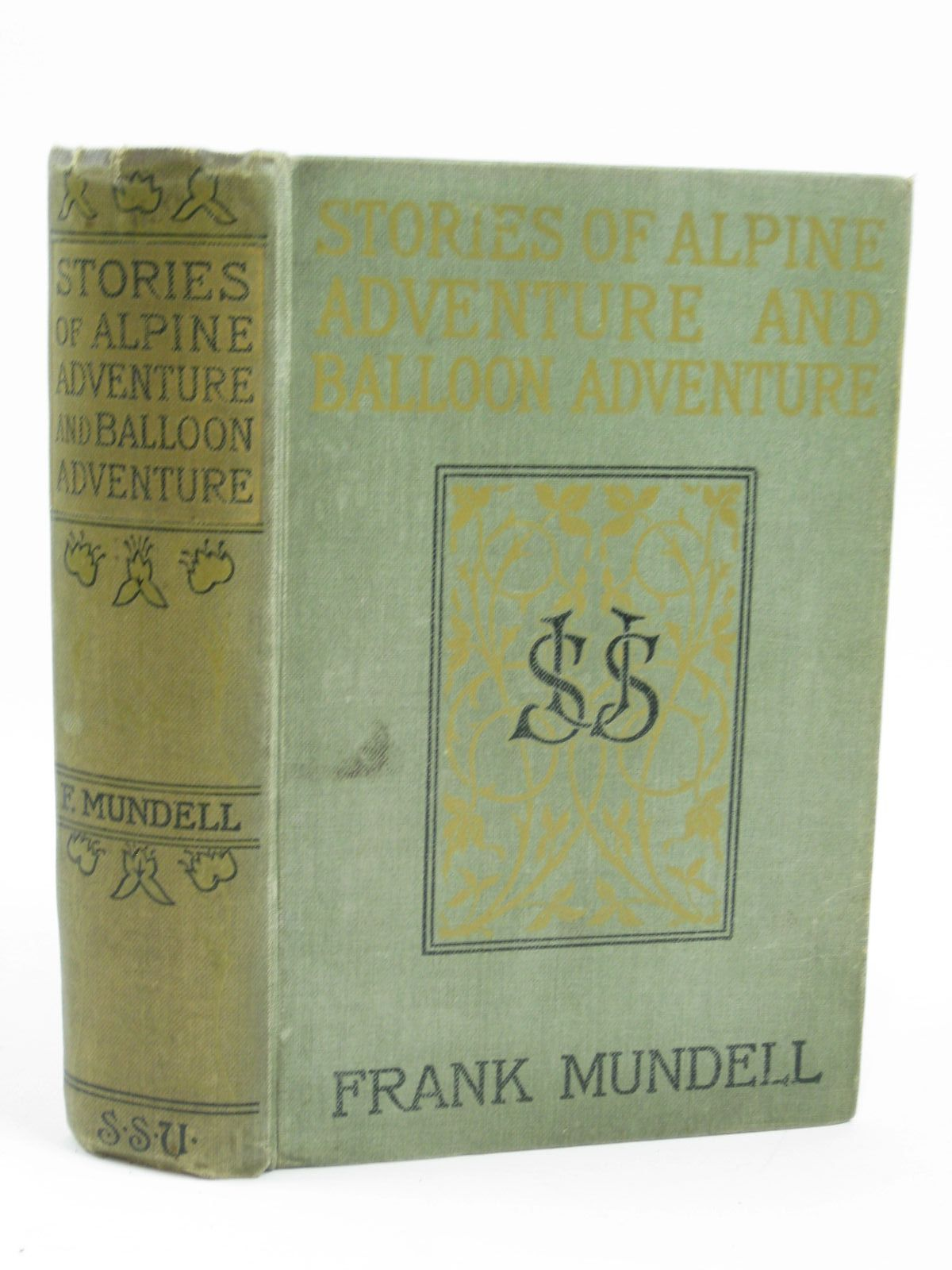 Photo of STORIES OF ALPINE ADVENTURE AND BALLOON ADVENTURE written by Mundell, Frank illustrated by Dadd, Frank et al., published by The Sunday School Union (STOCK CODE: 1506647)  for sale by Stella & Rose's Books