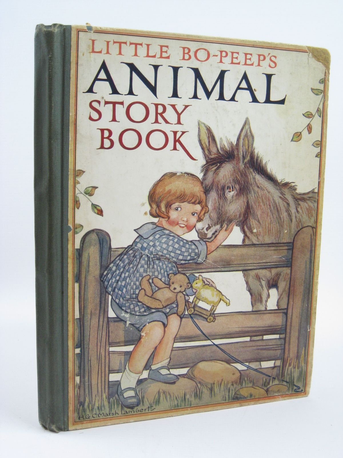 Photo of LITTLE BO-PEEP'S ANIMAL STORY BOOK illustrated by Lambert, H.G.C. Marsh published by Ward Lock & Co Ltd. (STOCK CODE: 1506665)  for sale by Stella & Rose's Books