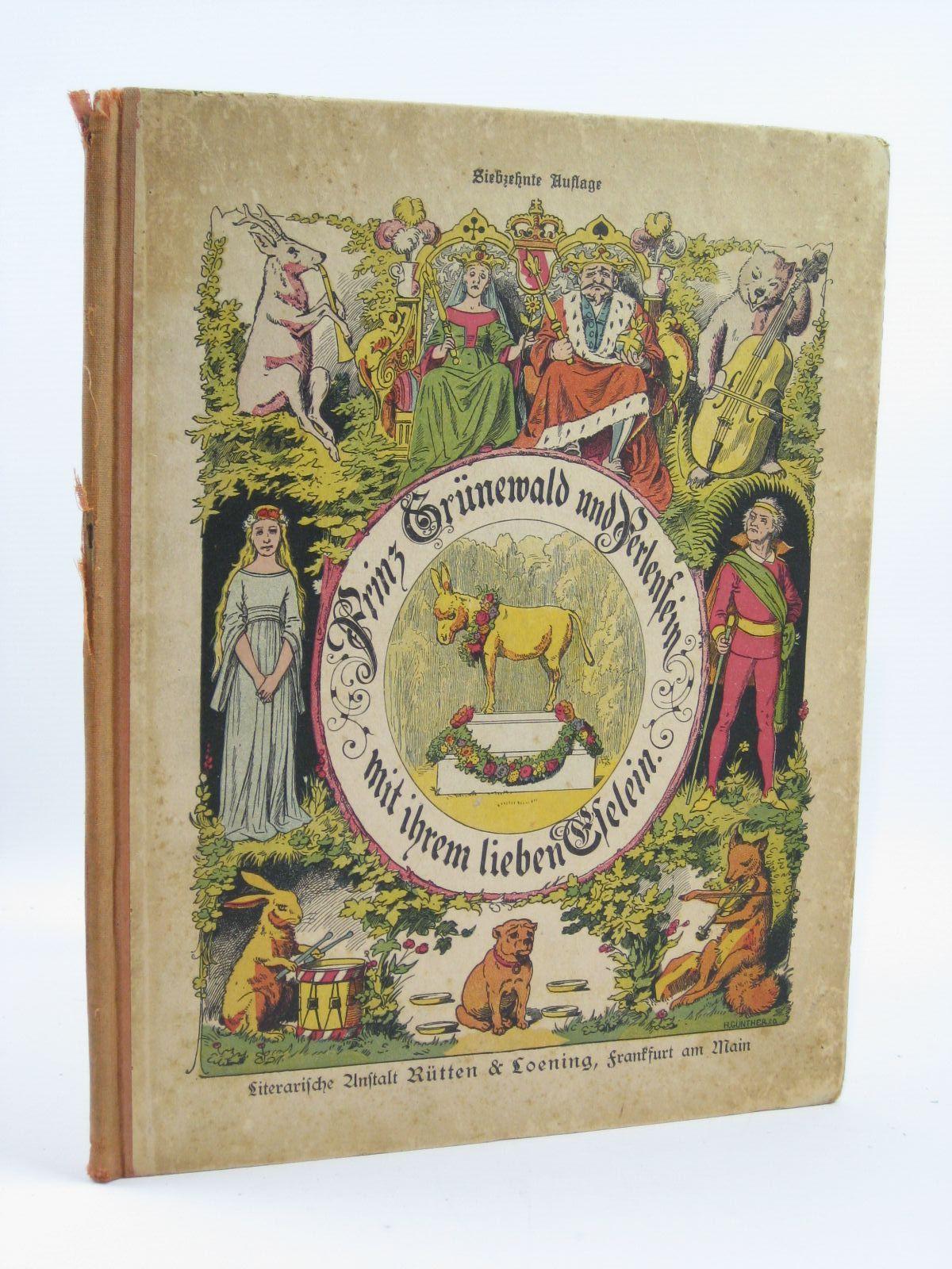 Photo of PRINZ GRUNEWALD UND PERLENFEIN MIT IHREM LIEBEN ESELEIN written by Hoffmann, Heinrich published by Rutten & Loening Berlag (STOCK CODE: 1506675)  for sale by Stella & Rose's Books