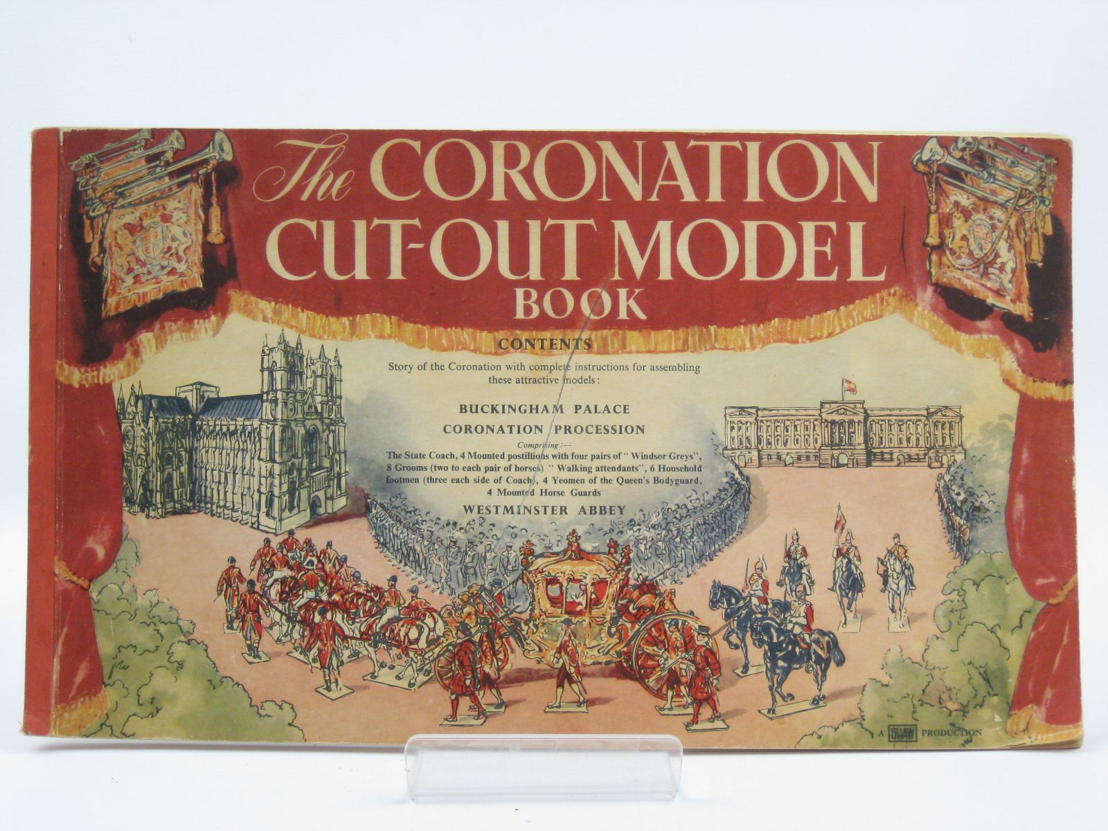 Photo of THE CORONATION CUT-OUT MODEL BOOK- Stock Number: 1506677