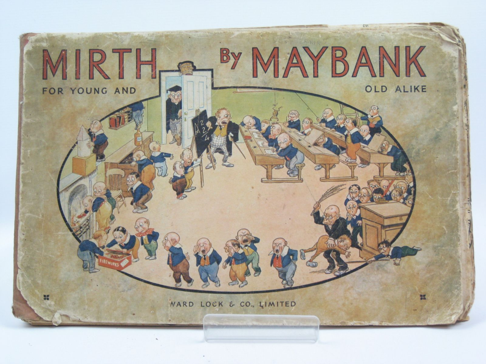 Photo of MIRTH BY MAYBANK illustrated by Maybank, Thomas published by Ward Lock & Co Ltd. (STOCK CODE: 1506678)  for sale by Stella & Rose's Books