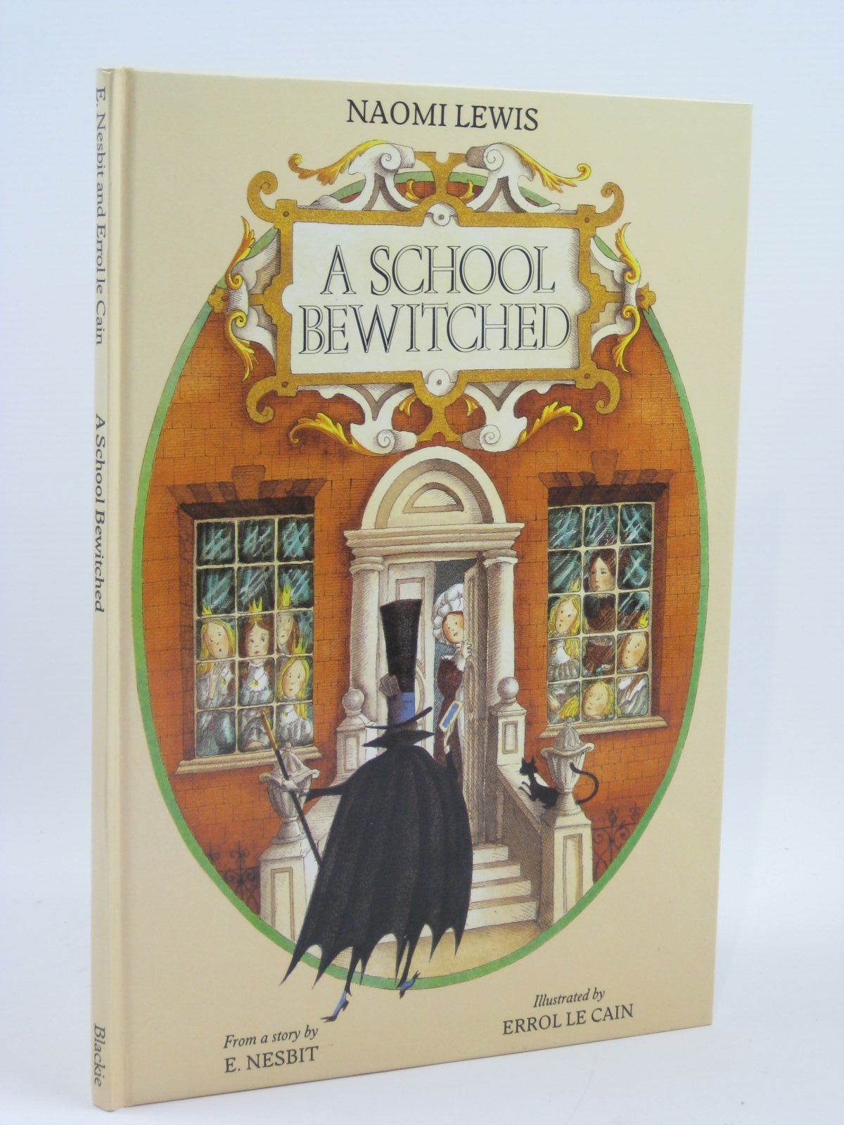 Photo of A SCHOOL BEWITCHED written by Lewis, Naomi illustrated by Le Cain, Errol published by Blackie (STOCK CODE: 1506685)  for sale by Stella & Rose's Books