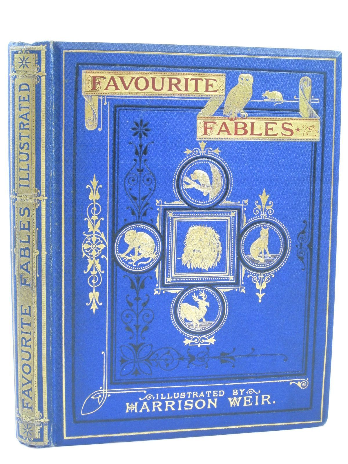 Photo of FAVOURITE FABLES illustrated by Weir, Harrison published by Griffith and Farran (STOCK CODE: 1506749)  for sale by Stella & Rose's Books