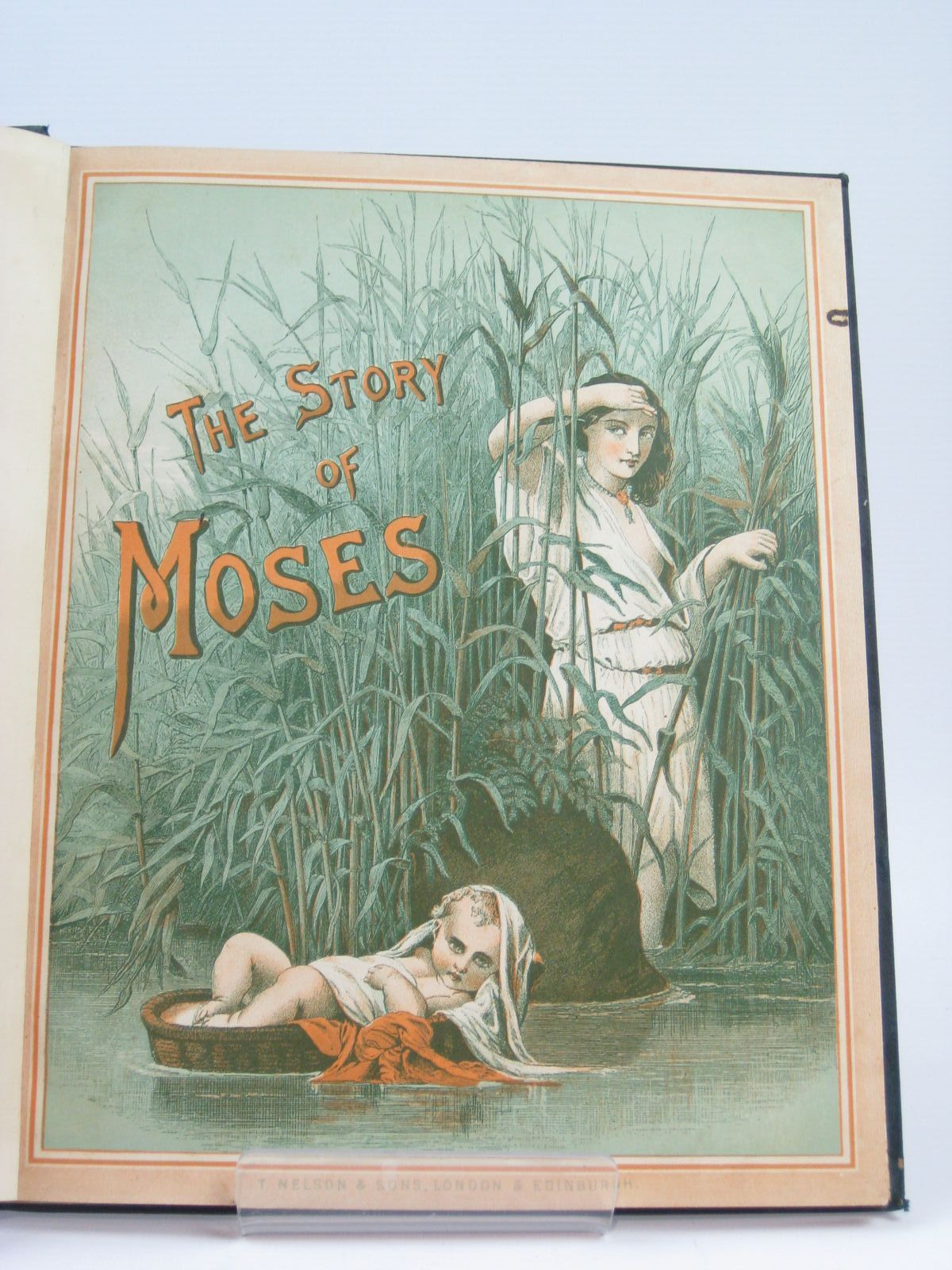 Photo of THE STORY OF MOSES, THE STORY OF RUTH, THE STORY OF SOLOMON- Stock Number: 1506755