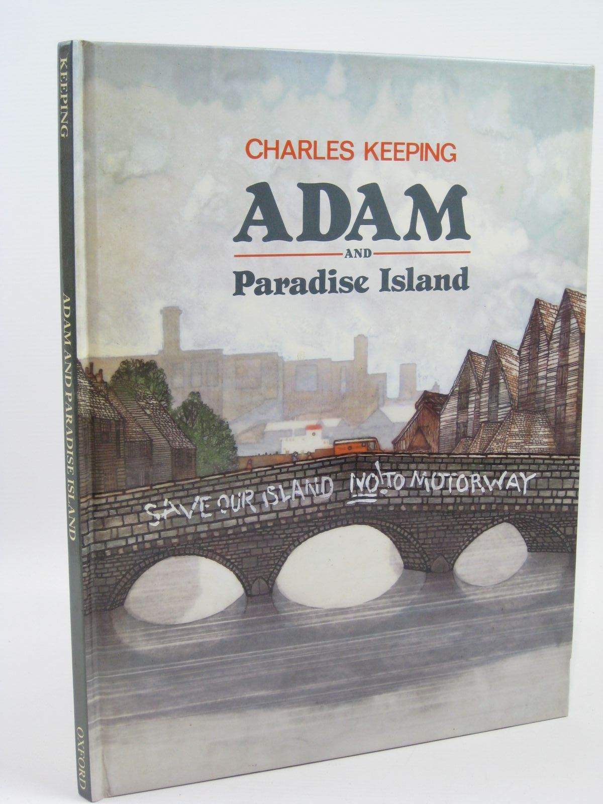 Photo of ADAM AND PARADISE ISLAND written by Keeping, Charles illustrated by Keeping, Charles published by Oxford University Press (STOCK CODE: 1506809)  for sale by Stella & Rose's Books