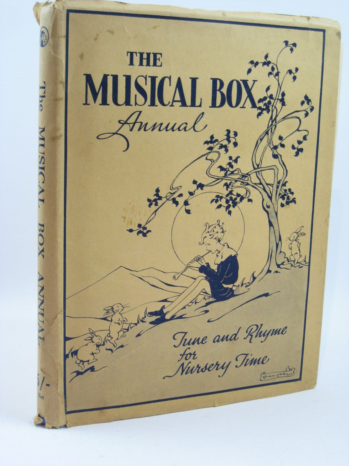 Photo of THE MUSICAL-BOX ANNUAL- Stock Number: 1506811
