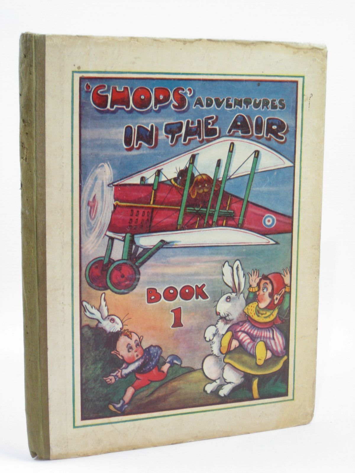 Photo of CHOPS ADVENTURES IN THE AIR written by Barks, E.J. illustrated by Barks, Dora published by Warrillows Ltd. (STOCK CODE: 1506821)  for sale by Stella & Rose's Books