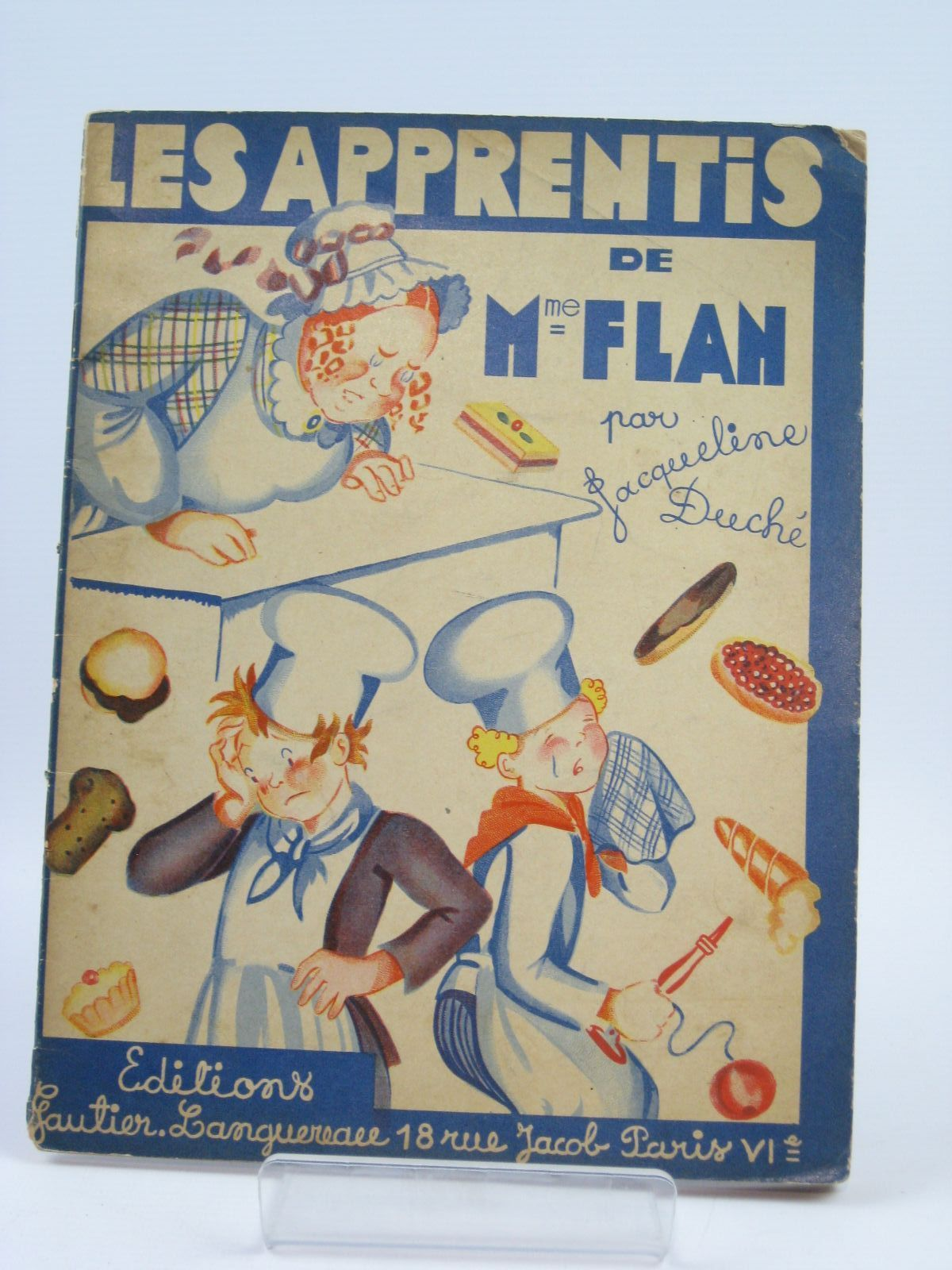 Photo of LES APPRENTIS DE MME FLAN written by Duche, Jacqueline illustrated by Duche, J. published by Gaultier-Languereau (STOCK CODE: 1506831)  for sale by Stella & Rose's Books
