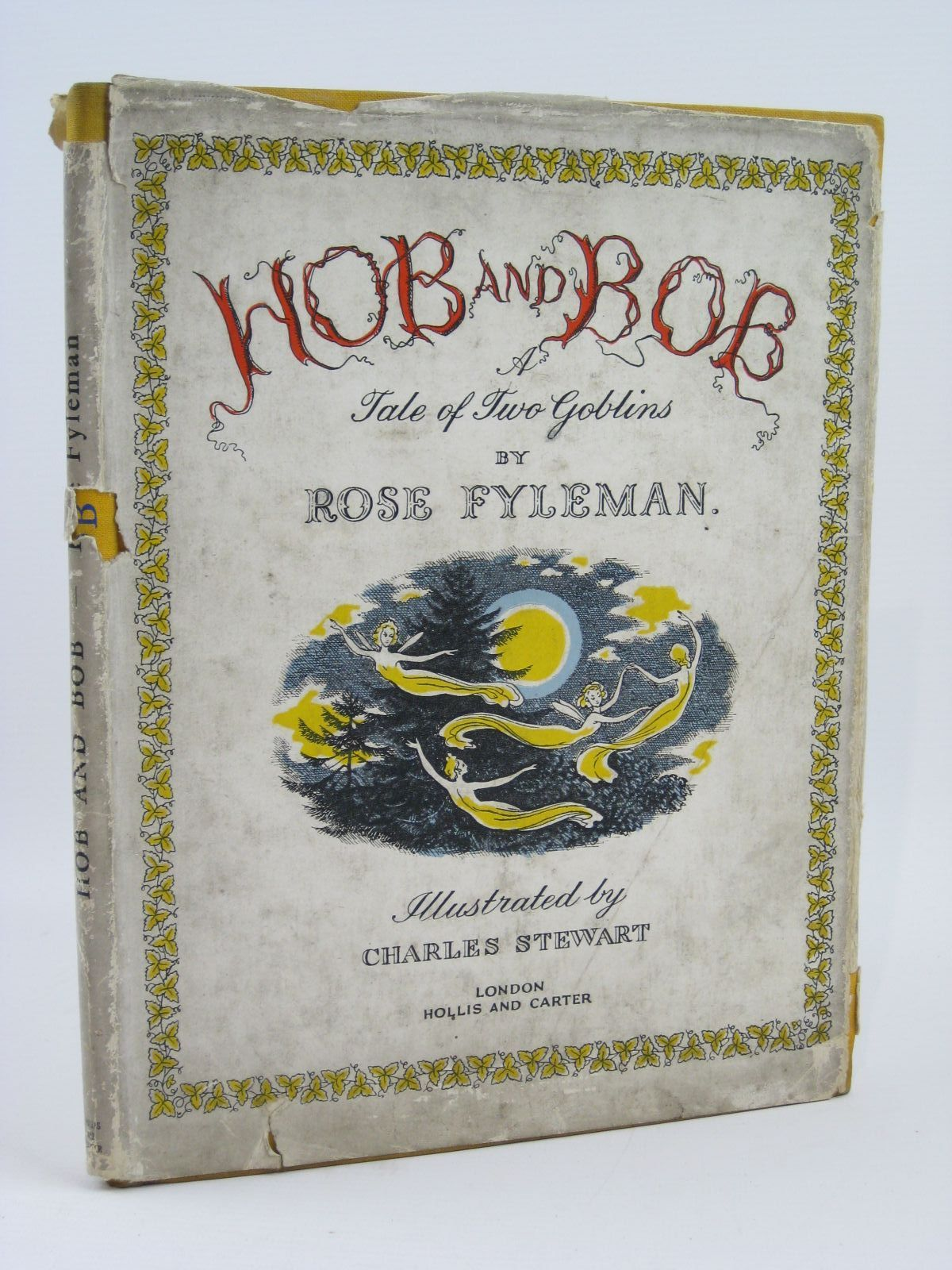 Photo of HOB AND BOB A TALE OF TWO GOBLINS written by Fyleman, Rose illustrated by Stewart, Charles published by Hollis & Carter (STOCK CODE: 1506840)  for sale by Stella & Rose's Books