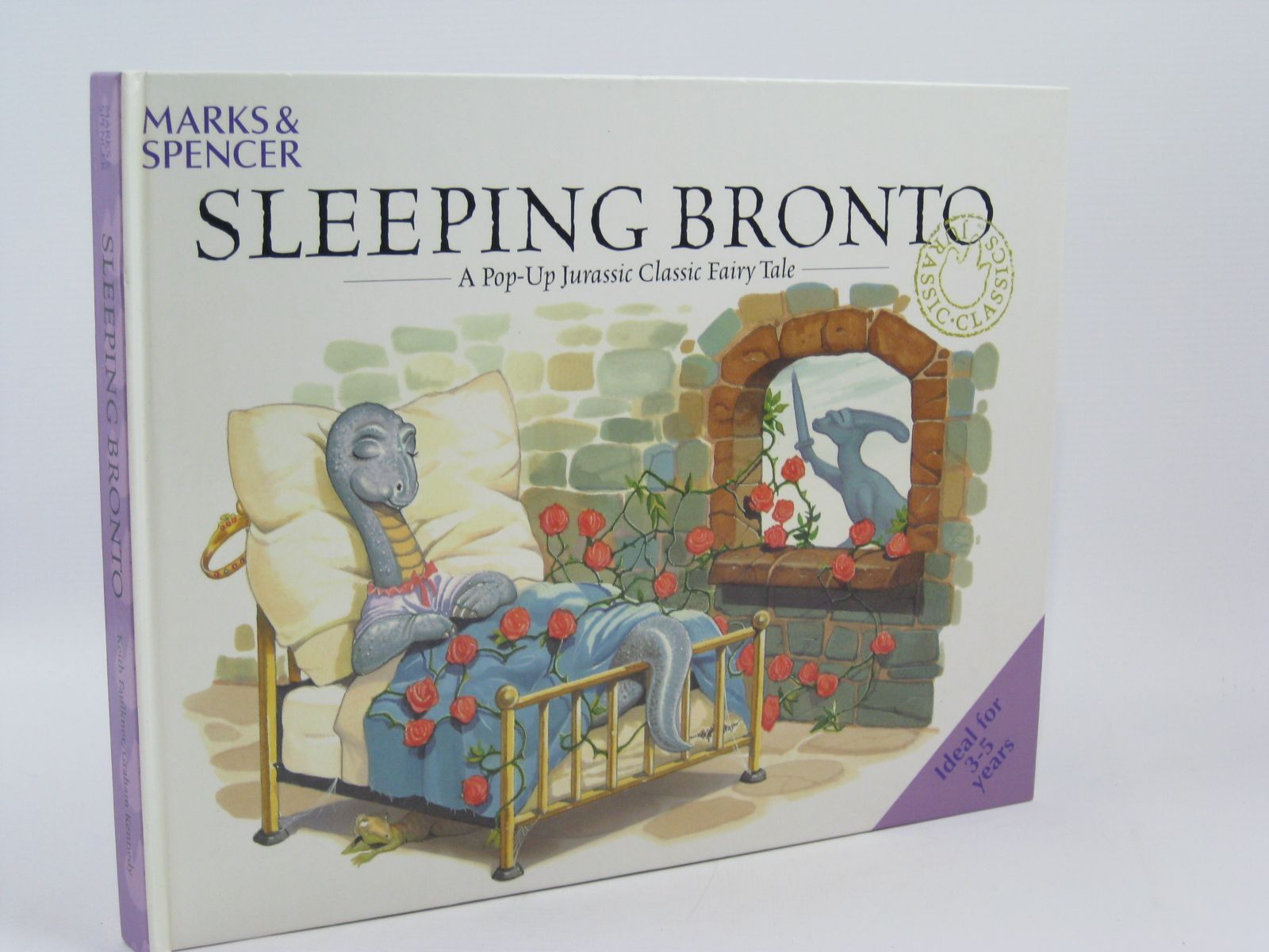 Photo of SLEEPING BRONTO written by Faulkner, Keith illustrated by Kennedy, Graham Lambert, Jonathan published by Marks & Spencer (STOCK CODE: 1506844)  for sale by Stella & Rose's Books