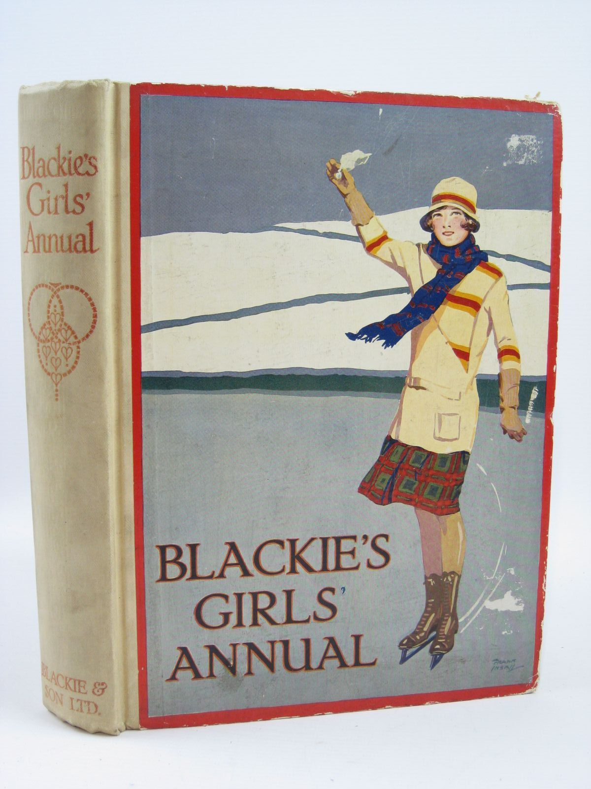 Photo of BLACKIE'S GIRLS' ANNUAL written by Joan, Natalie Harrison, Florence Bickersteth, Lucy Middleton, Margaret et al,  illustrated by Wiles, Frank E. Harrison, Florence Wilson, Radcliffe Brock, C.E. et al.,  published by Blackie & Son Ltd. (STOCK CODE: 1506890)  for sale by Stella & Rose's Books