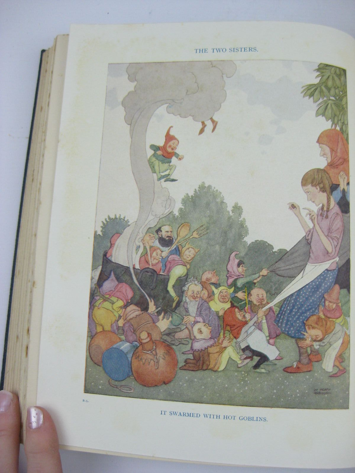 Photo of HEATH ROBINSON'S BOOK OF GOBLINS illustrated by Robinson, W. Heath published by Hutchinson & Co. Ltd (STOCK CODE: 1506906)  for sale by Stella & Rose's Books