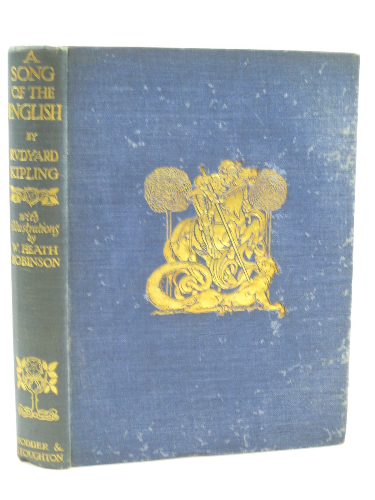 Photo of A SONG OF THE ENGLISH written by Kipling, Rudyard illustrated by Robinson, W. Heath published by Hodder & Stoughton (STOCK CODE: 1506921)  for sale by Stella & Rose's Books