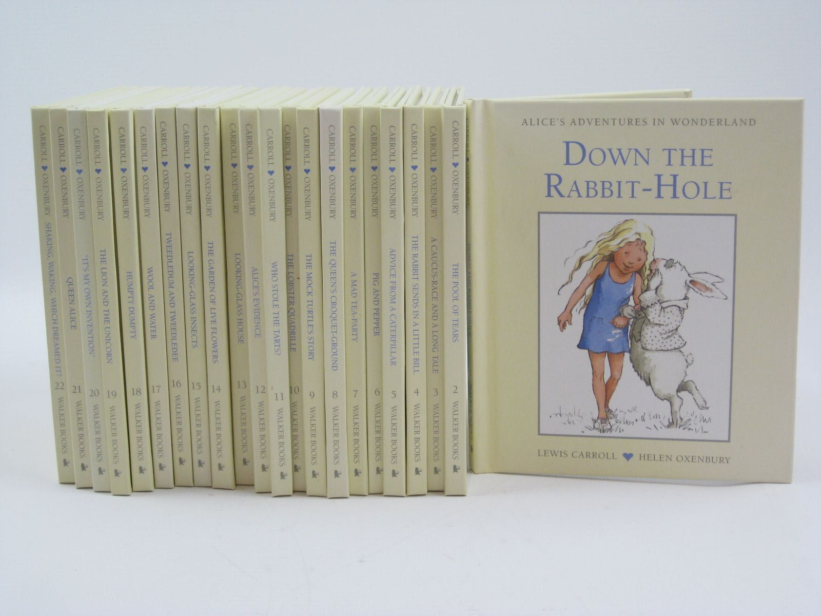 Photo of THE COMPLETE ALICE SET 2012 written by Carroll, Lewis illustrated by Oxenbury, Helen published by Walker Books (STOCK CODE: 1506924)  for sale by Stella & Rose's Books