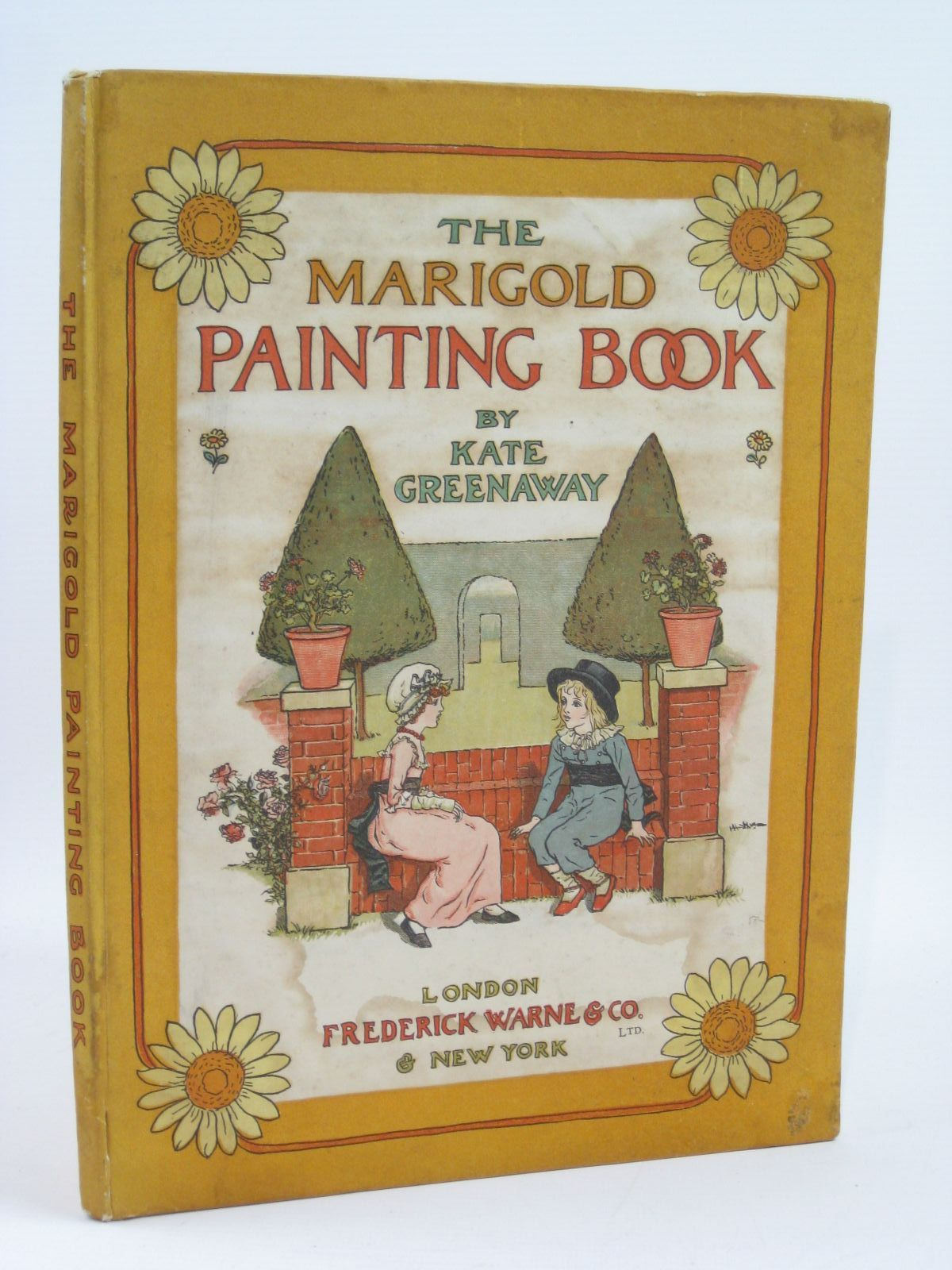 Photo of THE MARIGOLD PAINTING BOOK illustrated by Greenaway, Kate published by Frederick Warne & Co. (STOCK CODE: 1506949)  for sale by Stella & Rose's Books
