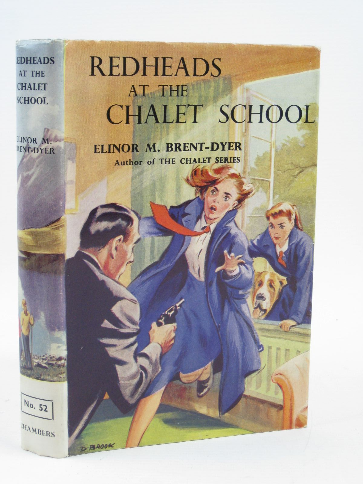 Photo of REDHEADS AT THE CHALET SCHOOL written by Brent-Dyer, Elinor M. illustrated by Brook, D. published by W. & R. Chambers Limited (STOCK CODE: 1506953)  for sale by Stella & Rose's Books