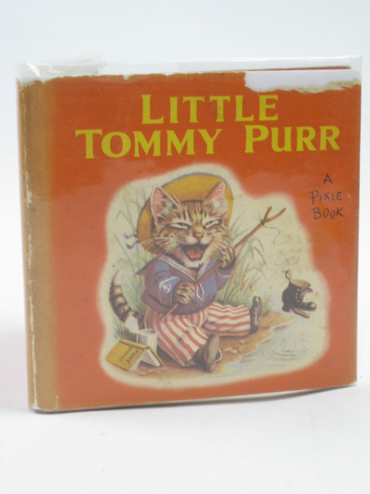 Photo of LITTLE TOMMY PURR written by Helps, Racey illustrated by Helps, Racey published by Collins (STOCK CODE: 1507096)  for sale by Stella & Rose's Books
