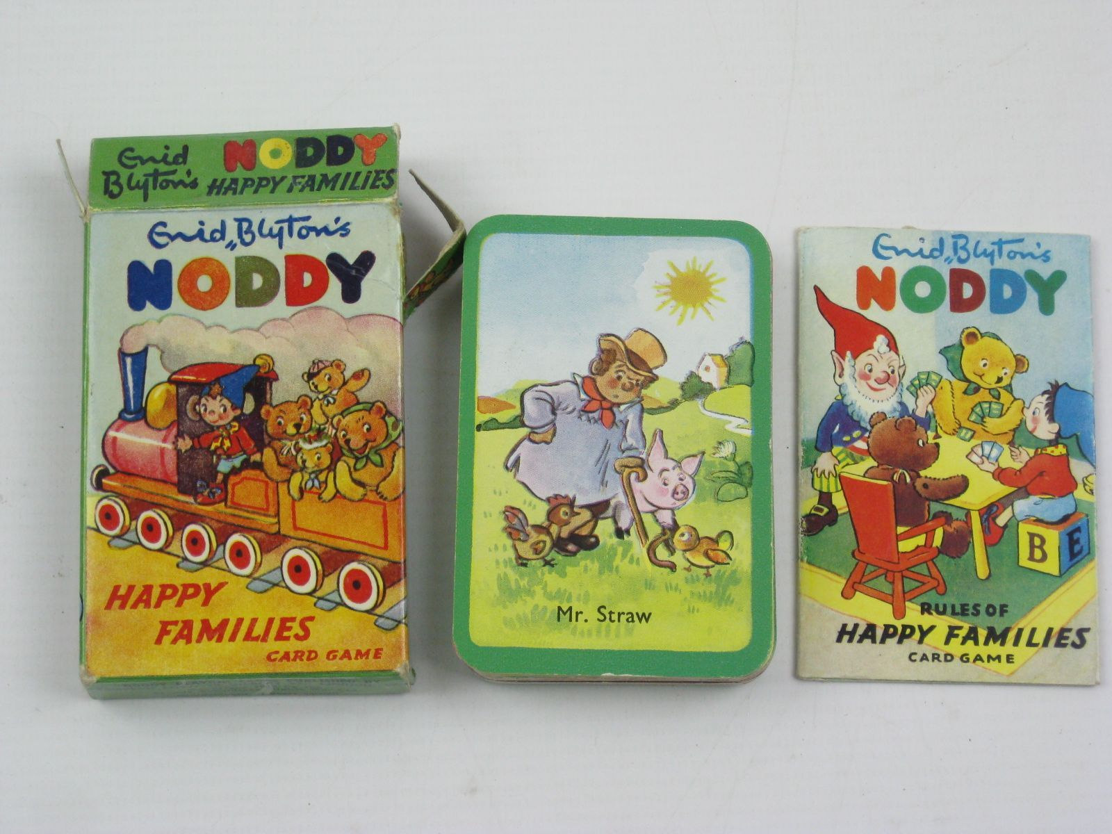 Photo of ENID BLYTON'S NODDY HAPPY FAMILIES CARD GAME written by Blyton, Enid published by Sampson Low (STOCK CODE: 1507134)  for sale by Stella & Rose's Books