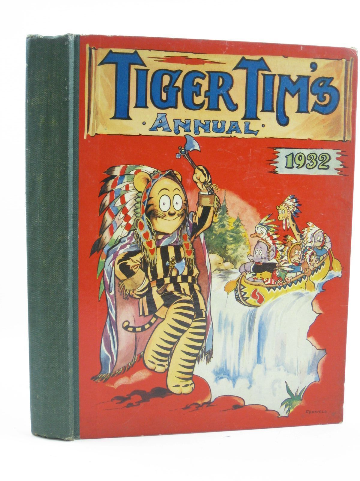 Photo of TIGER TIM'S ANNUAL 1932 illustrated by Foxwell, Herbert Mccready, H. et al., published by The Amalgamated Press (STOCK CODE: 1507147)  for sale by Stella & Rose's Books