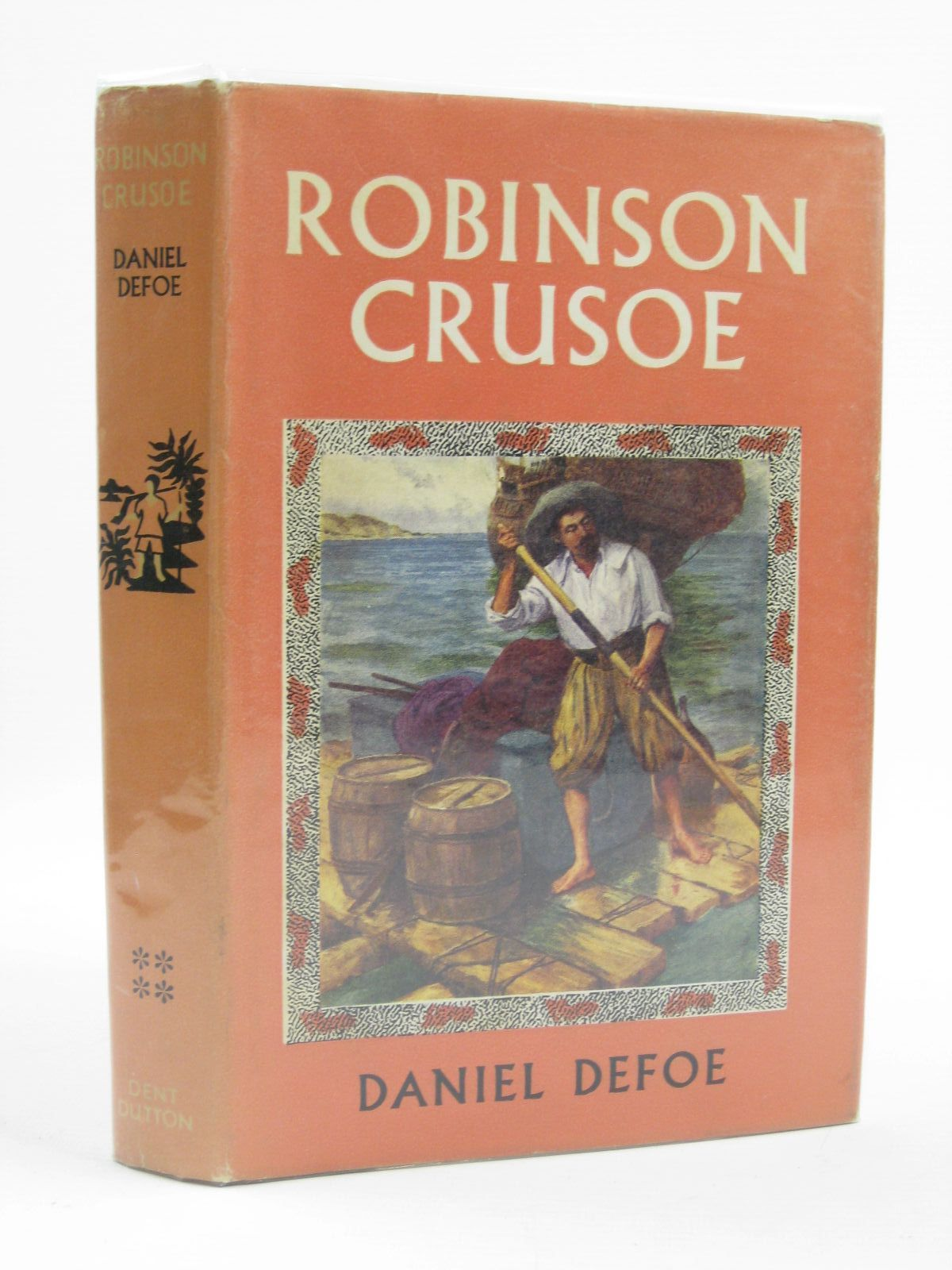 Photo of ROBINSON CRUSOE written by Defoe, Daniel illustrated by Symington, J. Ayton published by J.M. Dent & Sons Ltd. (STOCK CODE: 1507155)  for sale by Stella & Rose's Books
