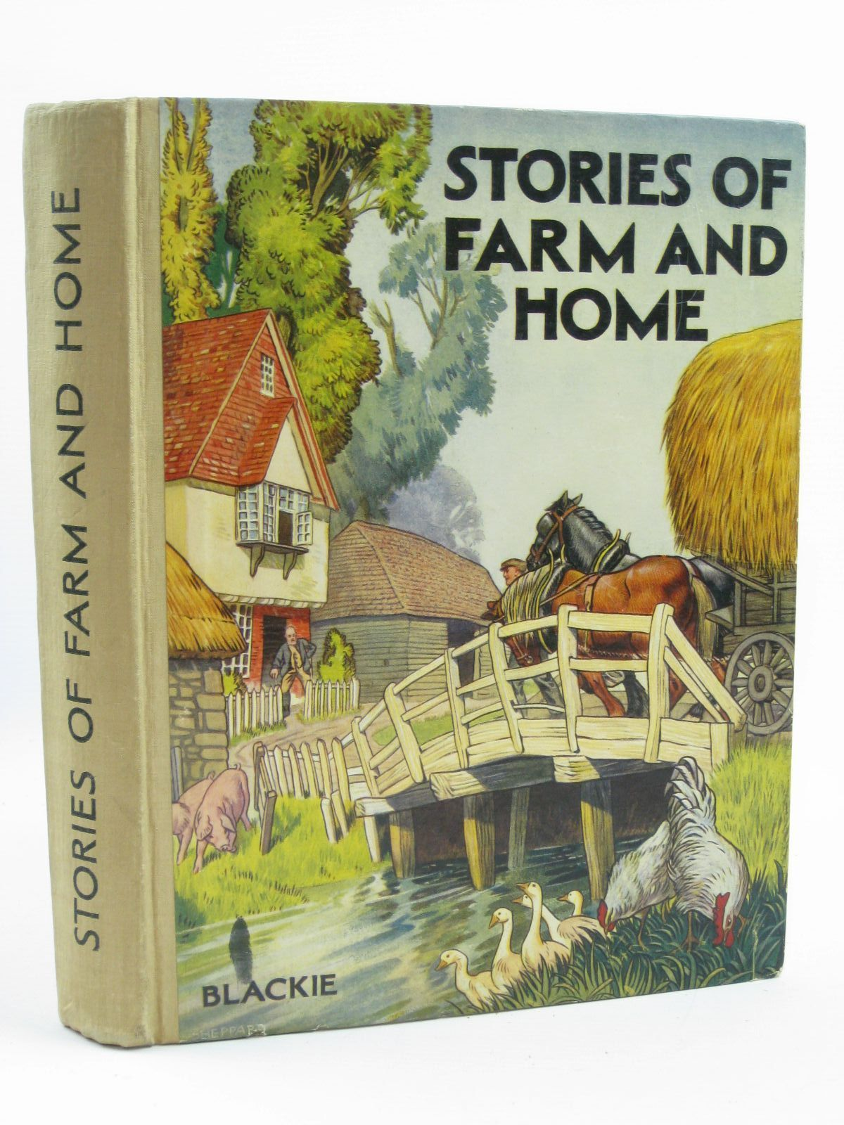 Photo of TALES OF FARM AND HOME written by Gould, Elizabeth<br />et al, illustrated by Butler, B.<br />Jacobs, Helen<br />et al., published by Blackie &amp; Son Ltd. (STOCK CODE: 1507204)  for sale by Stella & Rose's Books
