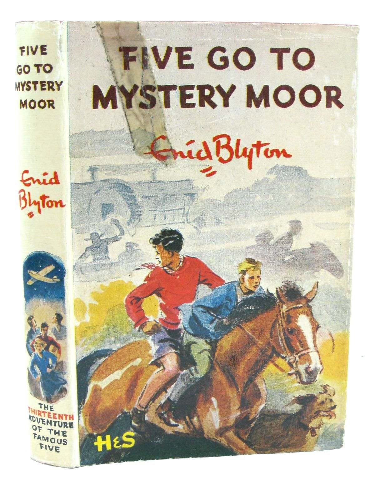 Photo of FIVE GO TO MYSTERY MOOR written by Blyton, Enid illustrated by Soper, Eileen published by Hodder & Stoughton (STOCK CODE: 1507305)  for sale by Stella & Rose's Books