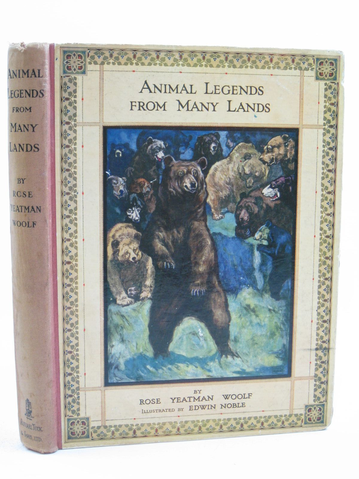 Photo of ANIMAL LEGENDS FROM MANY LANDS written by Woolf, Rose Yeatman illustrated by Noble, Edwin published by Raphael Tuck & Sons Ltd. (STOCK CODE: 1507317)  for sale by Stella & Rose's Books