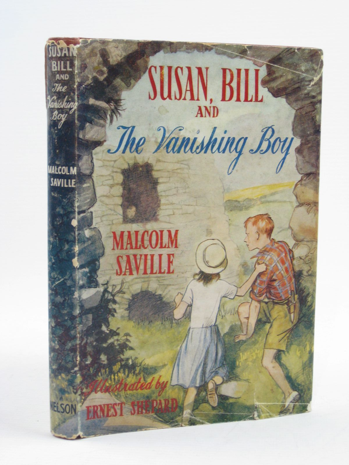 Photo of SUSAN, BILL AND THE VANISHING BOY written by Saville, Malcolm illustrated by Shepard, E.H. published by Thomas Nelson & Sons (STOCK CODE: 1507437)  for sale by Stella & Rose's Books
