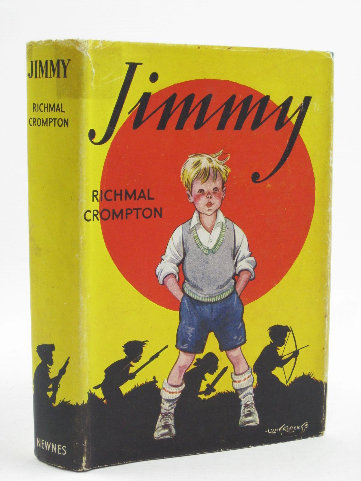 Photo of JIMMY written by Crompton, Richmal illustrated by Roberts, Lunt published by George Newnes Limited (STOCK CODE: 1507442)  for sale by Stella & Rose's Books
