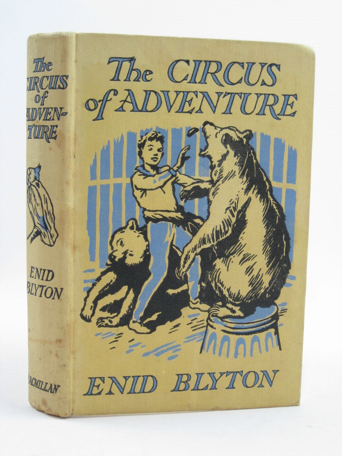 Photo of THE CIRCUS OF ADVENTURE written by Blyton, Enid illustrated by Tresilian, Stuart published by Macmillan & Co. Ltd. (STOCK CODE: 1507458)  for sale by Stella & Rose's Books
