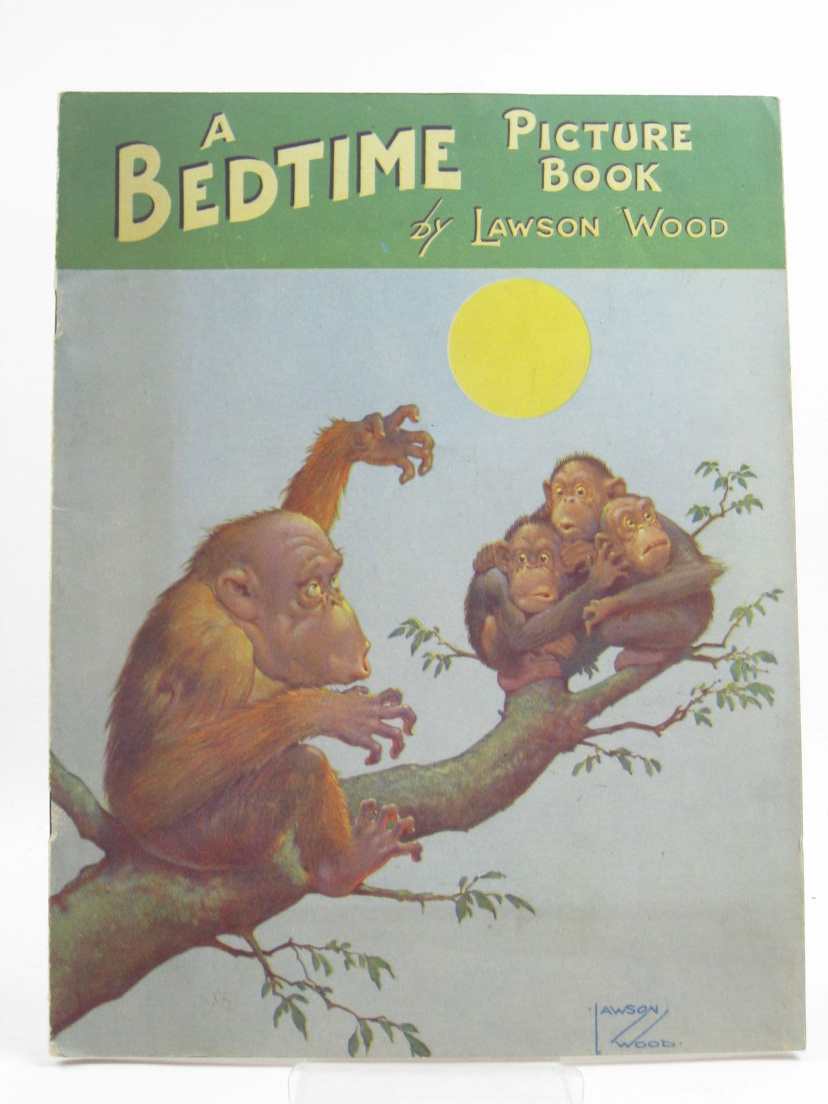 Photo of A BEDTIME PICTURE BOOK written by Wood, Lawson illustrated by Wood, Lawson published by Birn Brothers Ltd. (STOCK CODE: 1507486)  for sale by Stella & Rose's Books