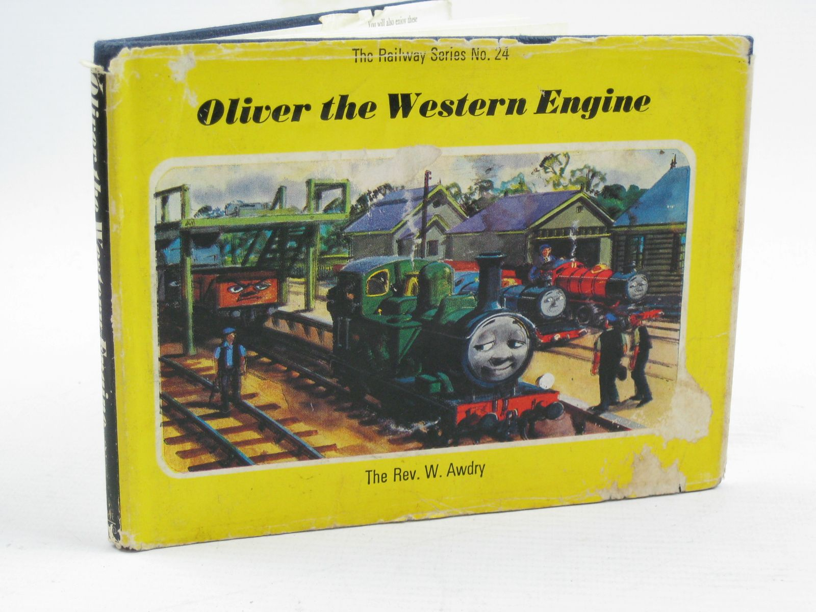Photo of OLIVER THE WESTERN ENGINE written by Awdry, Rev. W. illustrated by Edwards, Gunvor<br />Edwards, Peter published by Kaye &amp; Ward Ltd. (STOCK CODE: 1507540)  for sale by Stella & Rose's Books