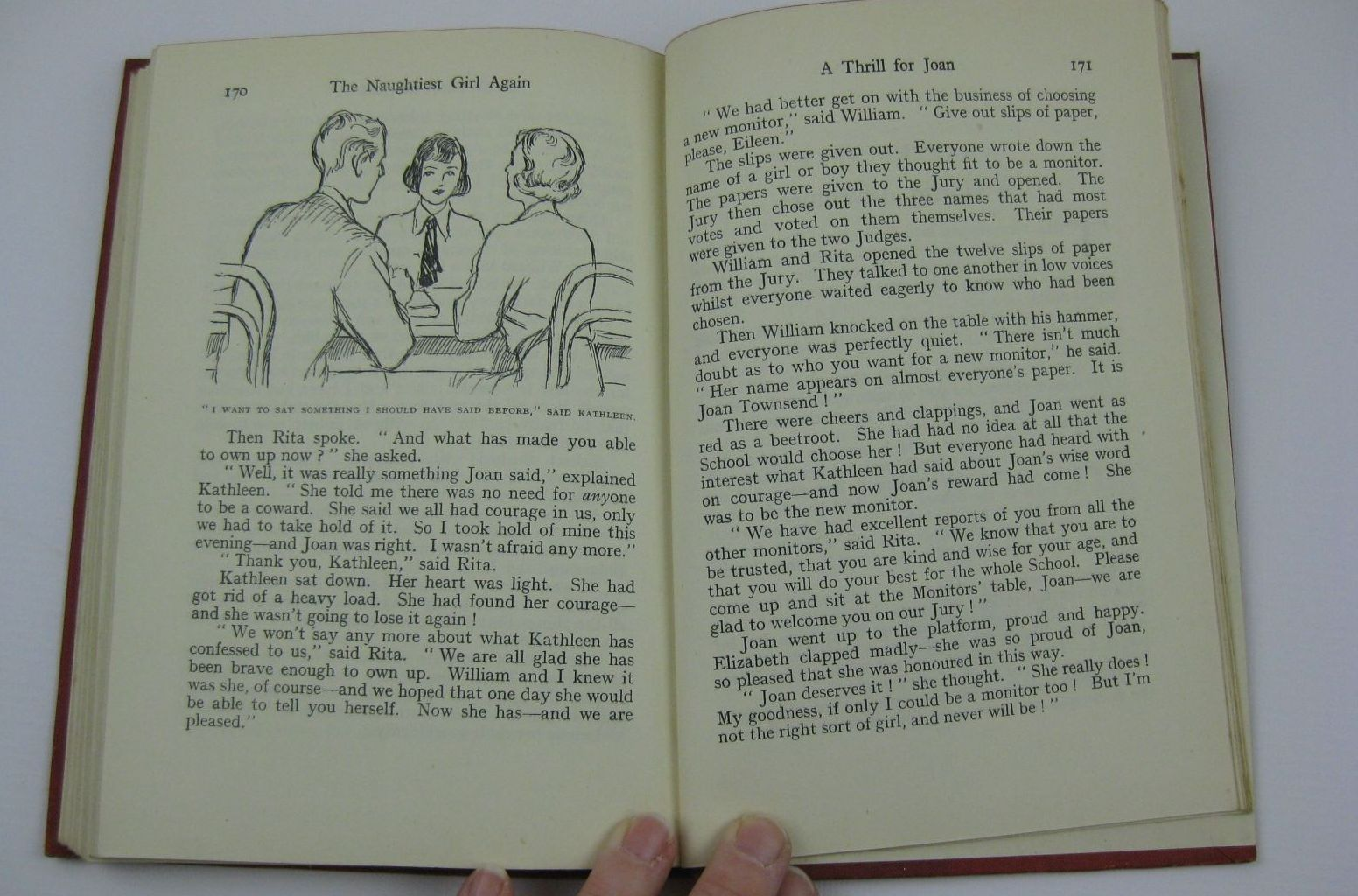 Photo of THE NAUGHTIEST GIRL AGAIN written by Blyton, Enid illustrated by Cable, W. Lindsay published by George Newnes Ltd. (STOCK CODE: 1507563)  for sale by Stella & Rose's Books
