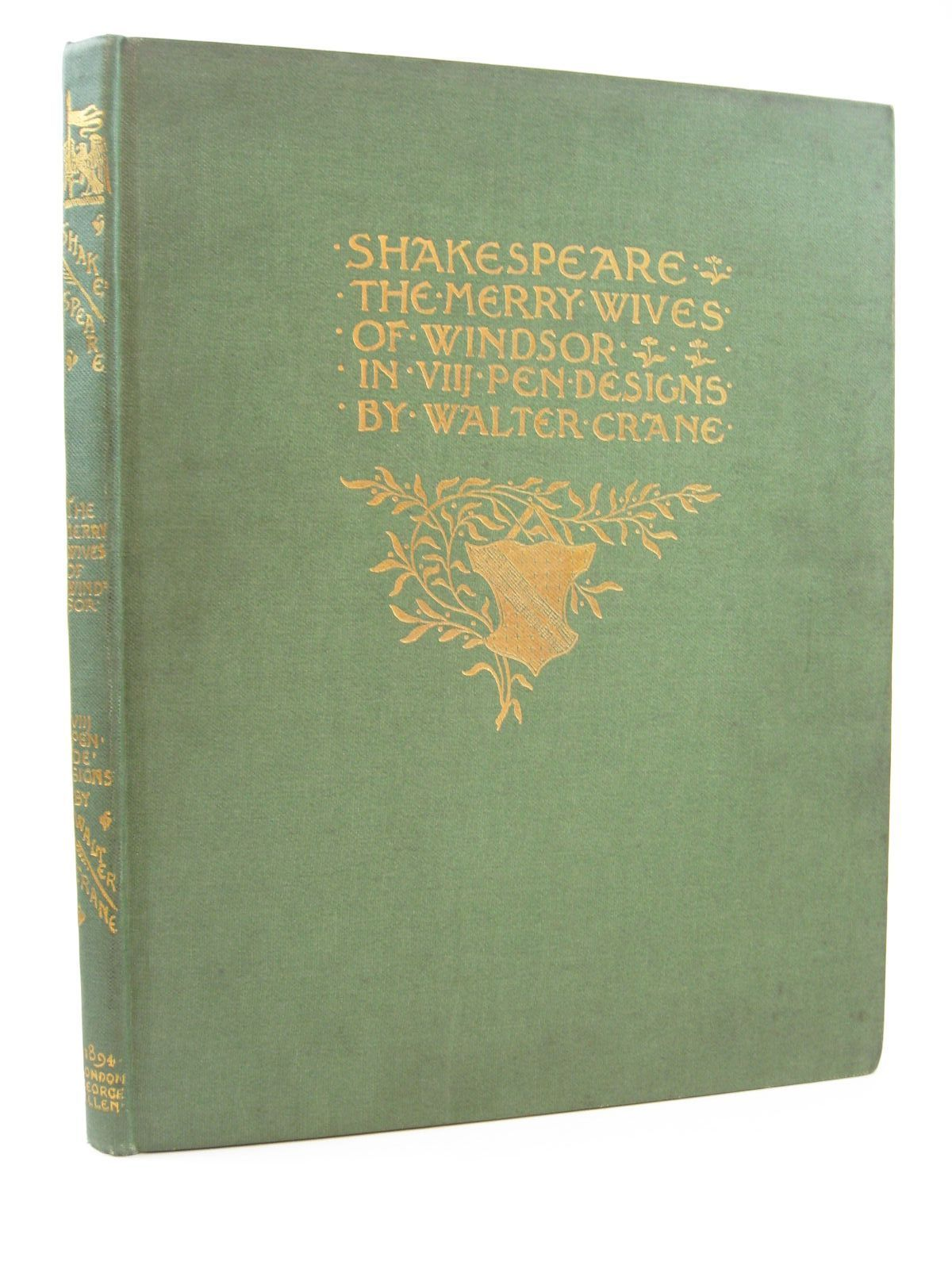 Photo of SHAKESPEARE'S COMEDY OF THE MERRY WIVES OF WINDSOR- Stock Number: 1507573
