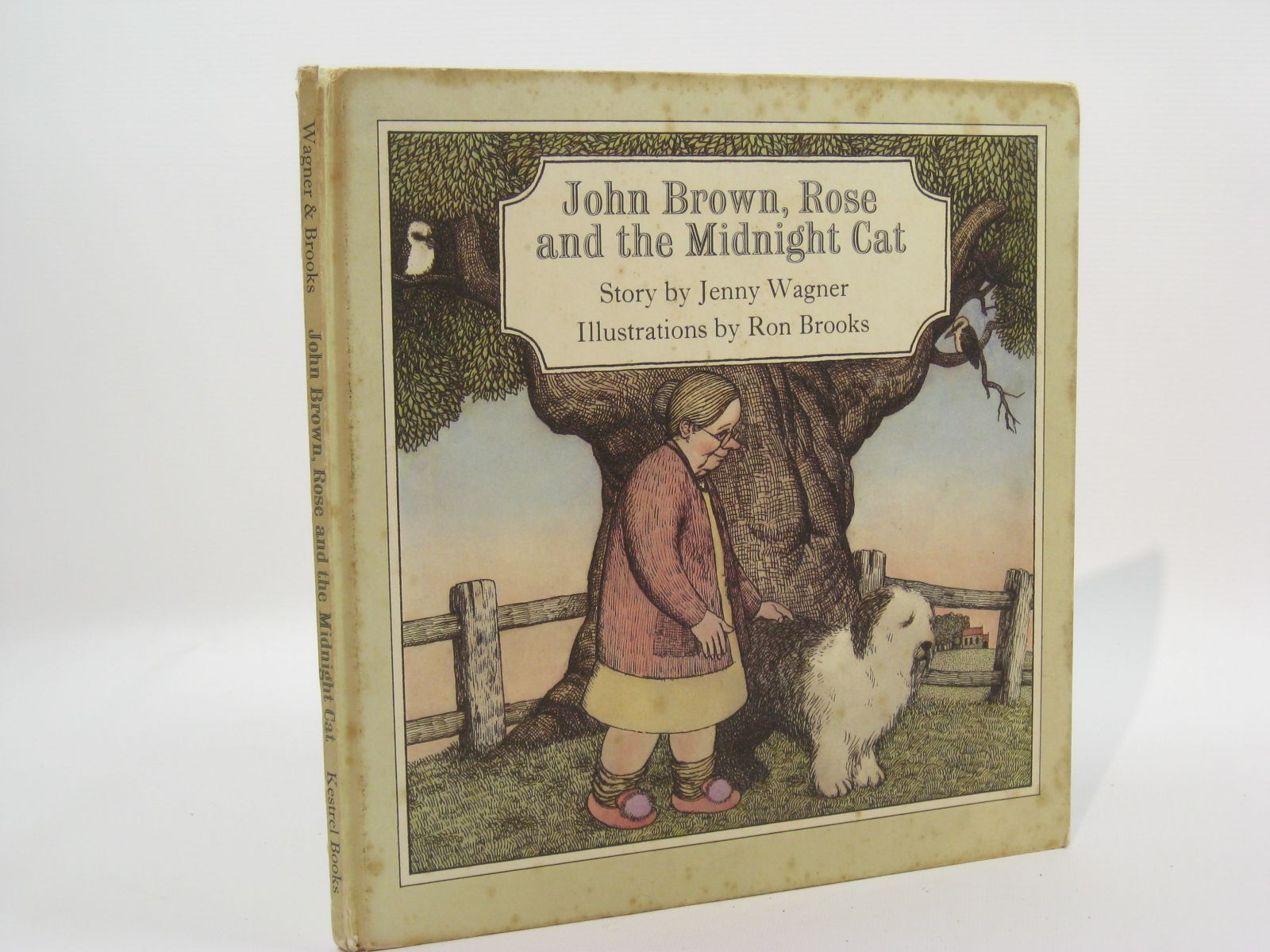 Photo of JOHN BROWN, ROSE AND THE MIDNIGHT CAT written by Wagner, Jenny illustrated by Brooks, Ron published by Kestrel Books (STOCK CODE: 1507605)  for sale by Stella & Rose's Books